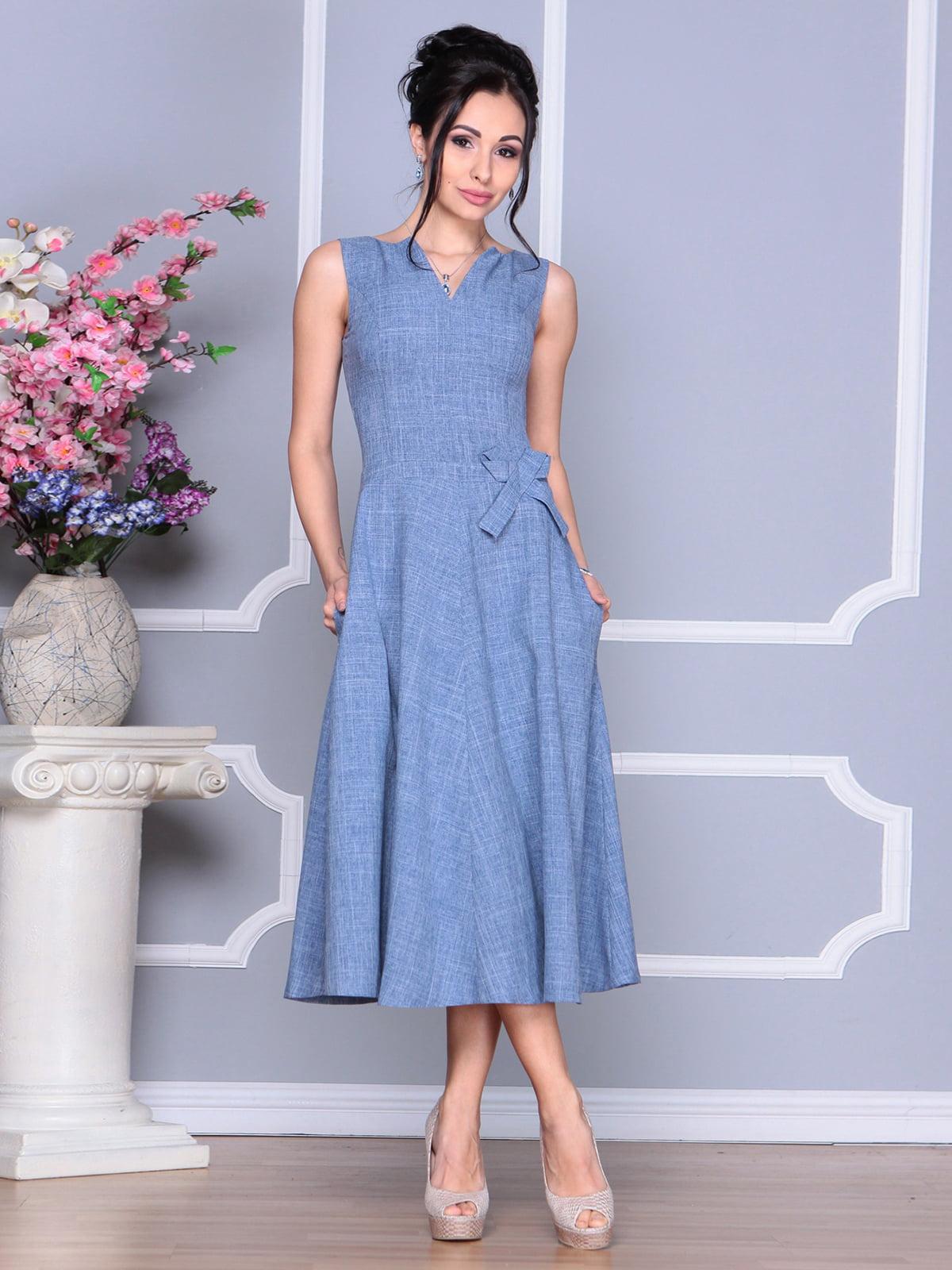 Сукня кольору джинс   4186790