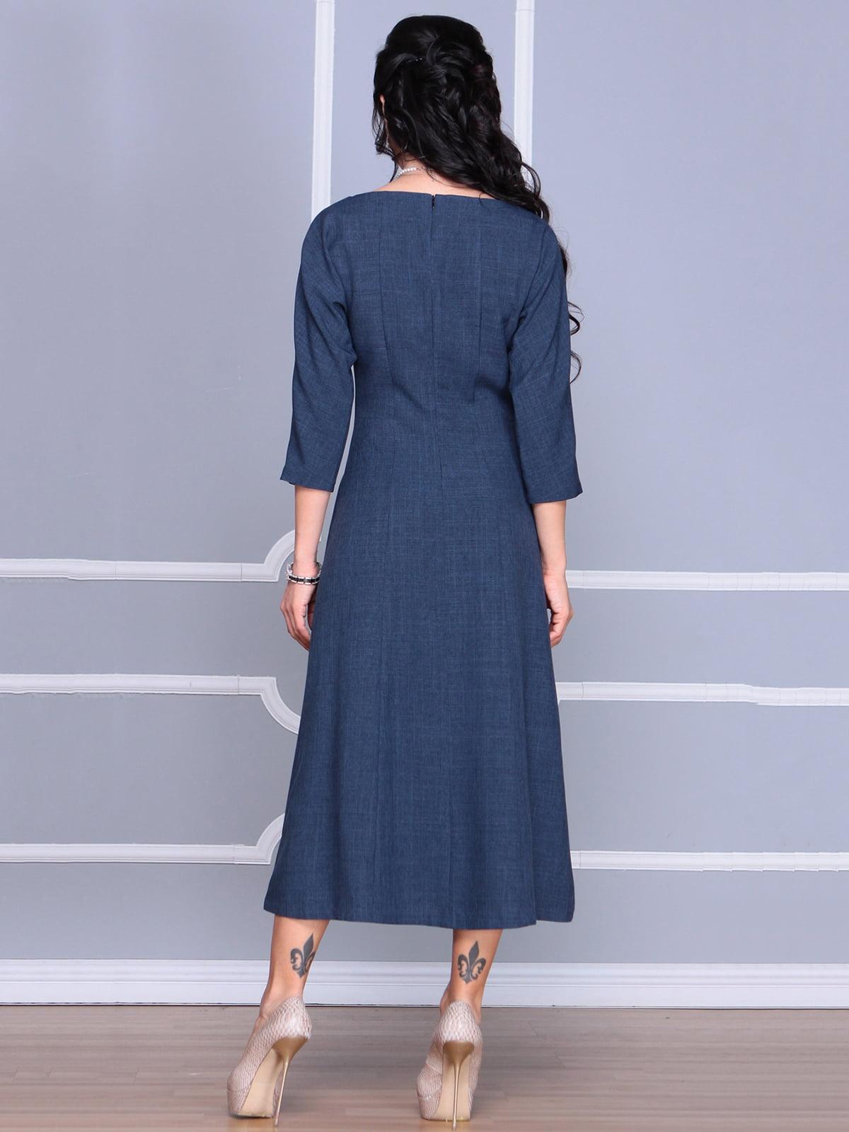 Платье темно-синее   4186806   фото 2