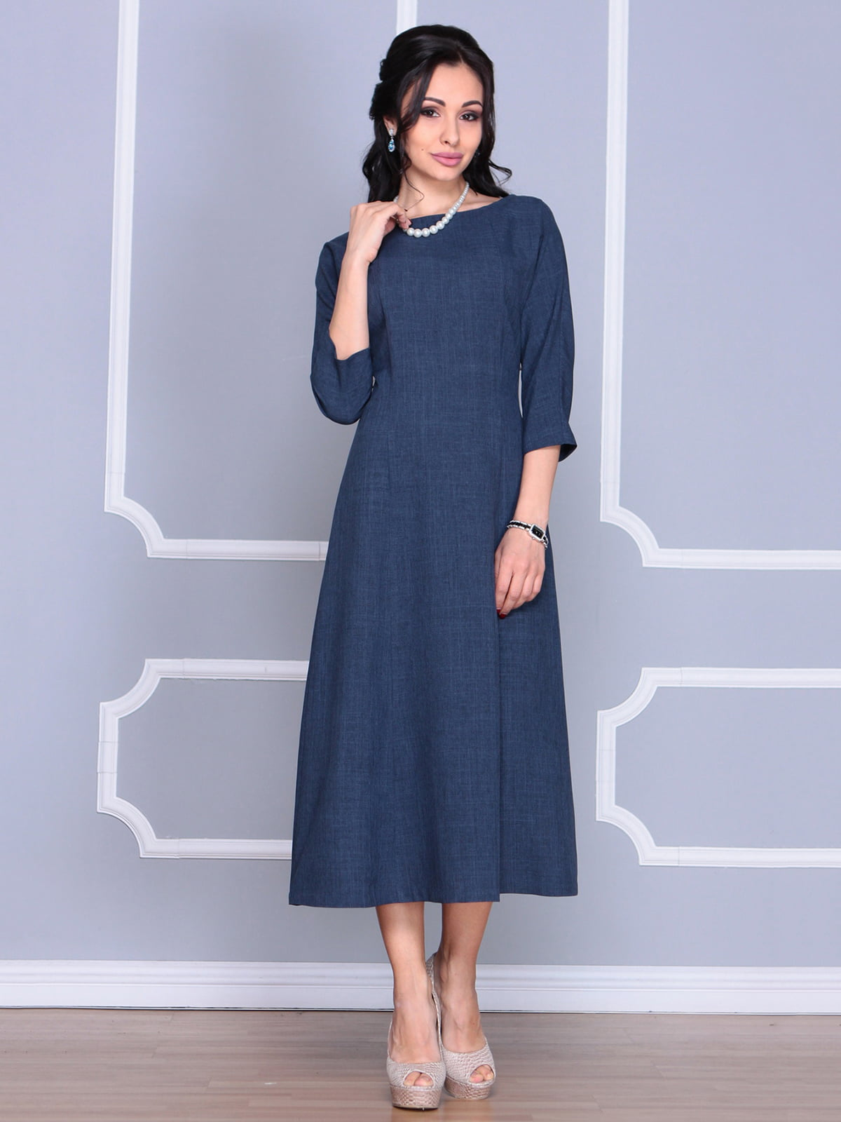 Платье темно-синее   4186806   фото 3