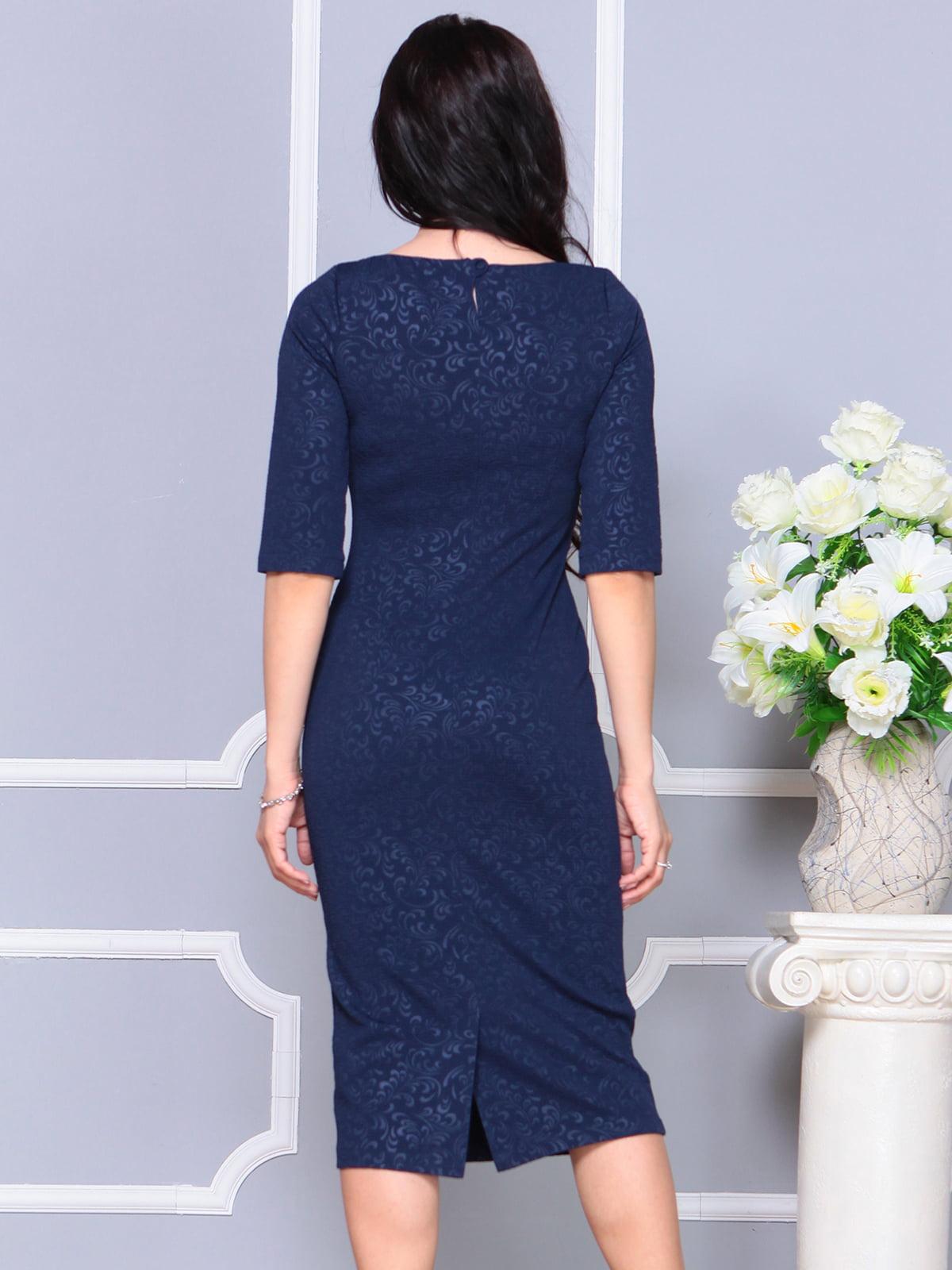 Платье темно-синее | 4187854 | фото 2