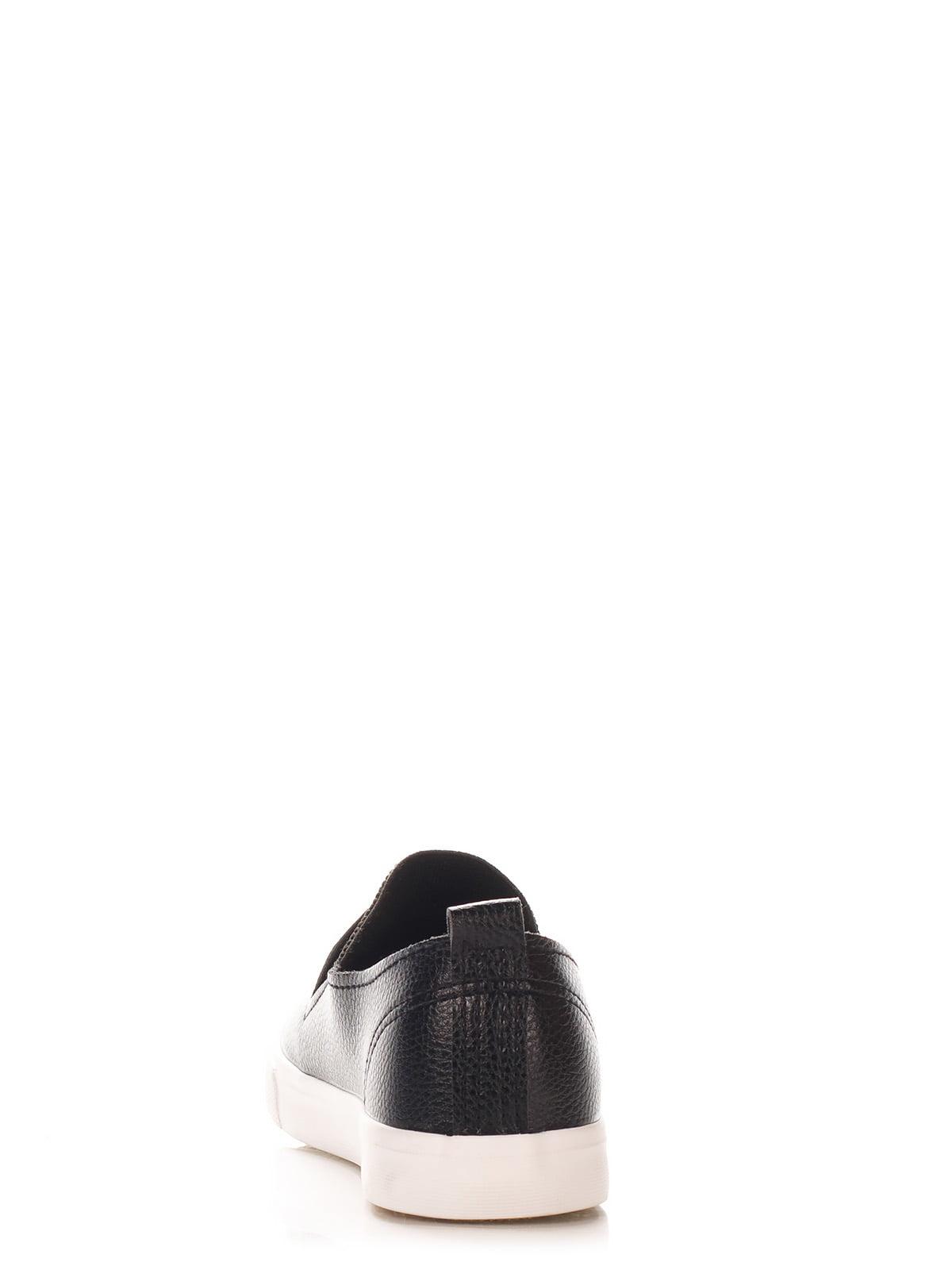 Слипоны черные с принтом | 2561857 | фото 4