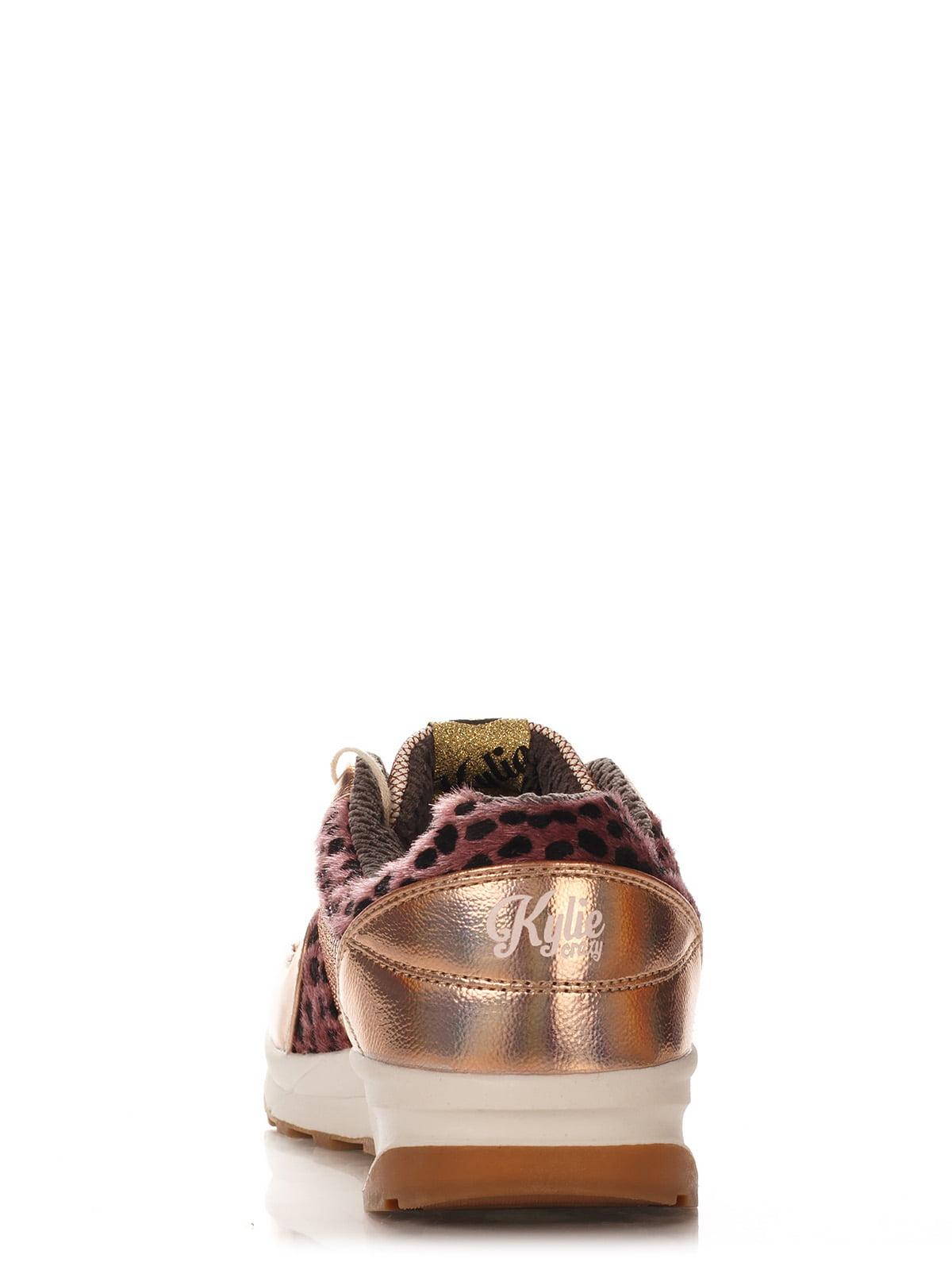 Кроссовки золотистые | 3245244 | фото 4