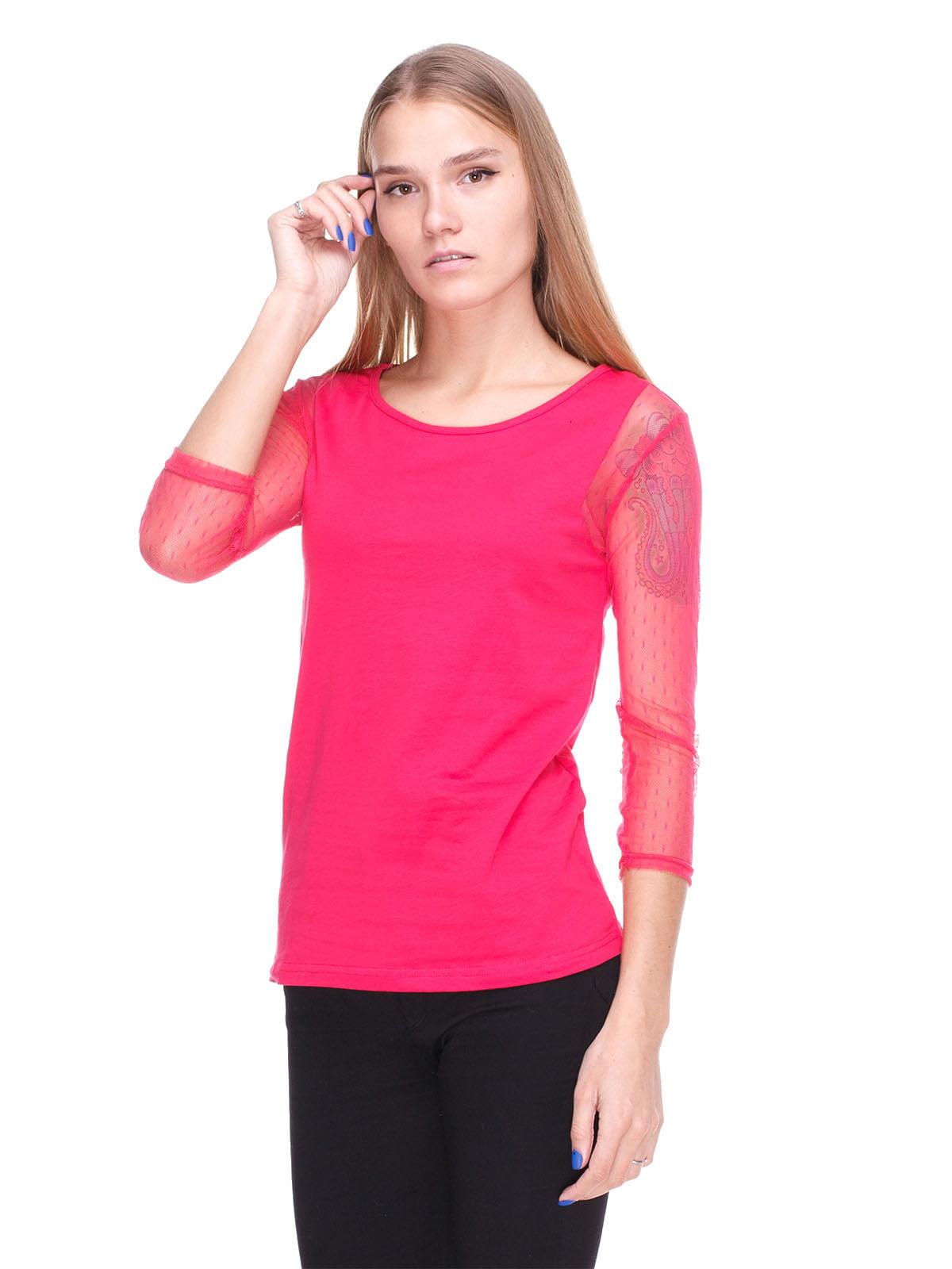 Блуза малинова | 4180416