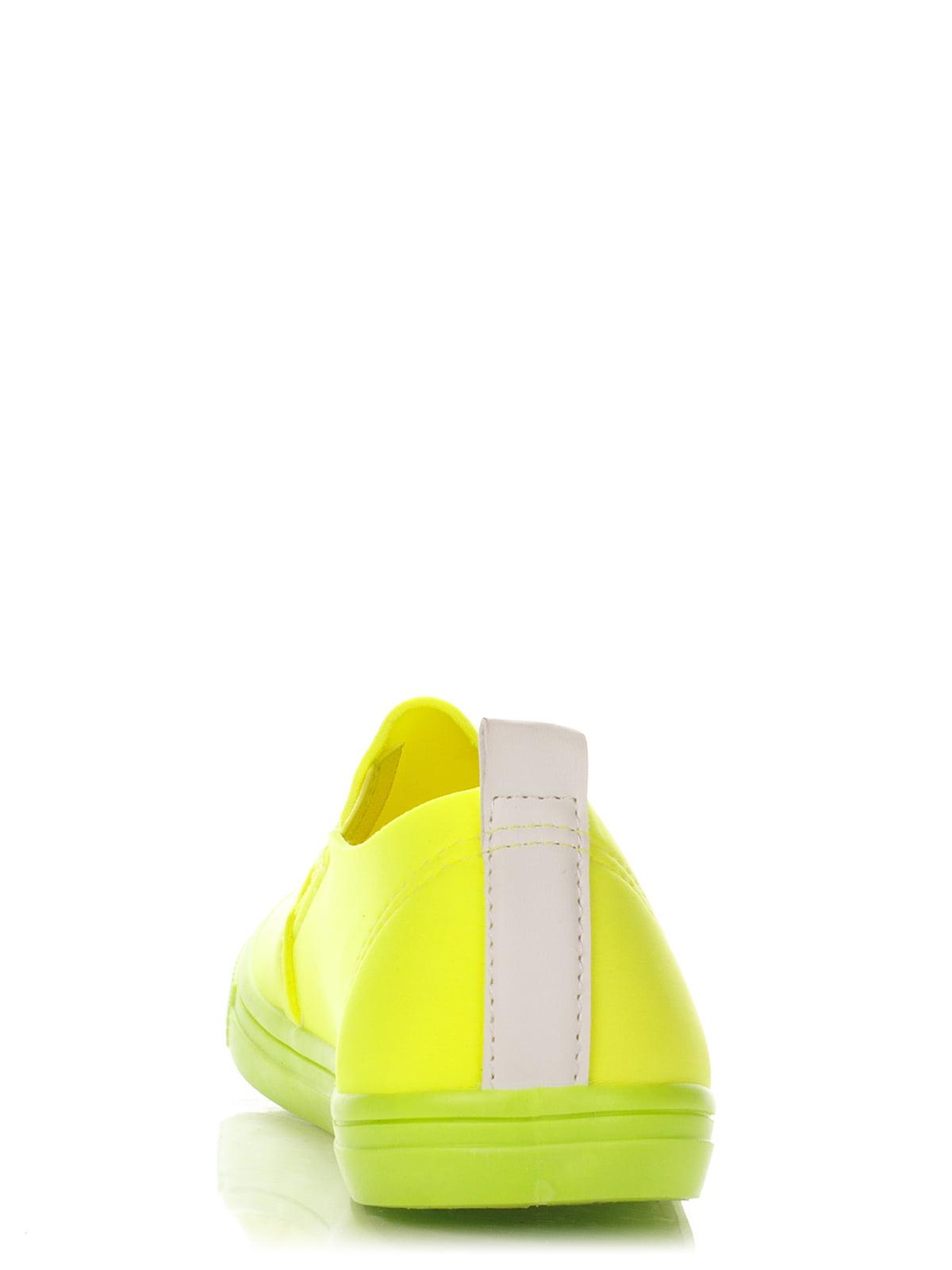 Слипоны ярко-салатовые | 2743407 | фото 4