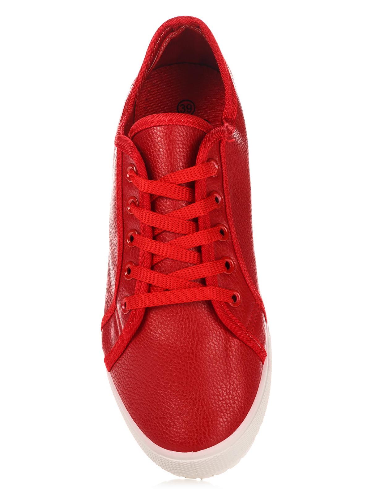 Кеды красные | 3028867 | фото 5