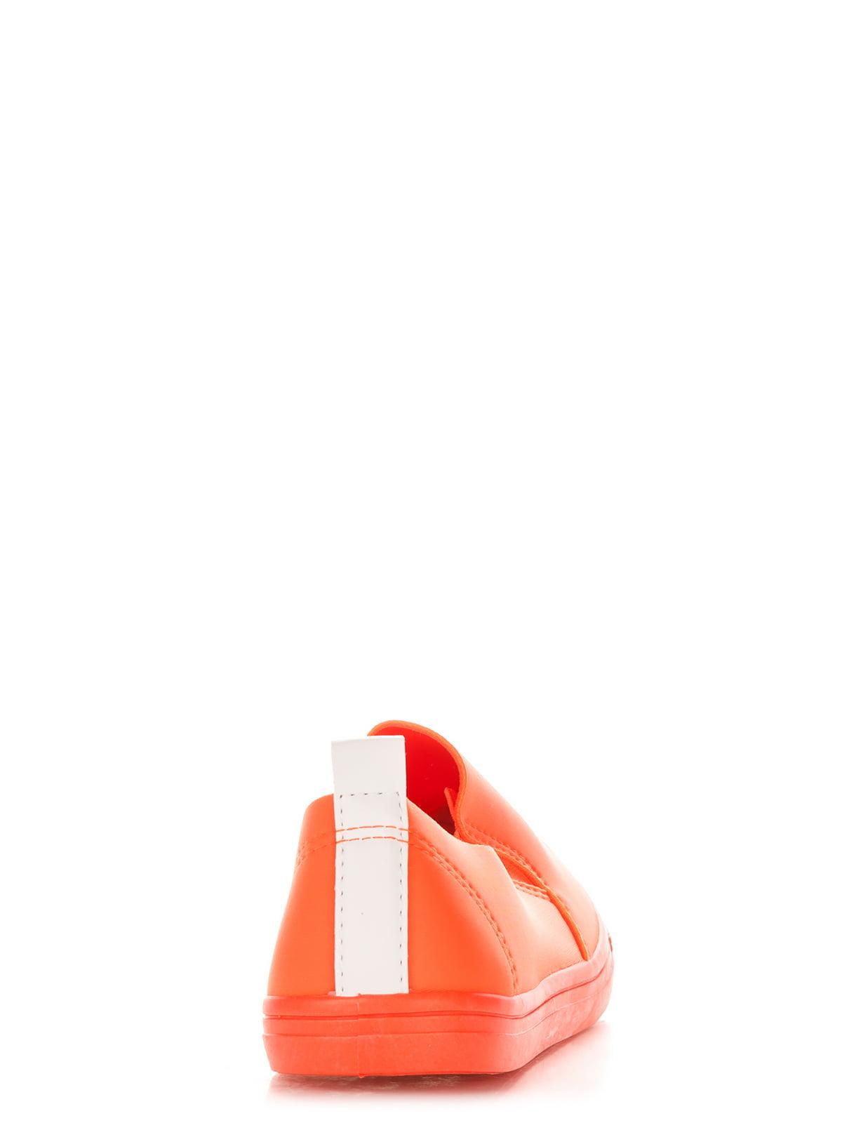 Слипоны оранжевые | 2743406 | фото 4