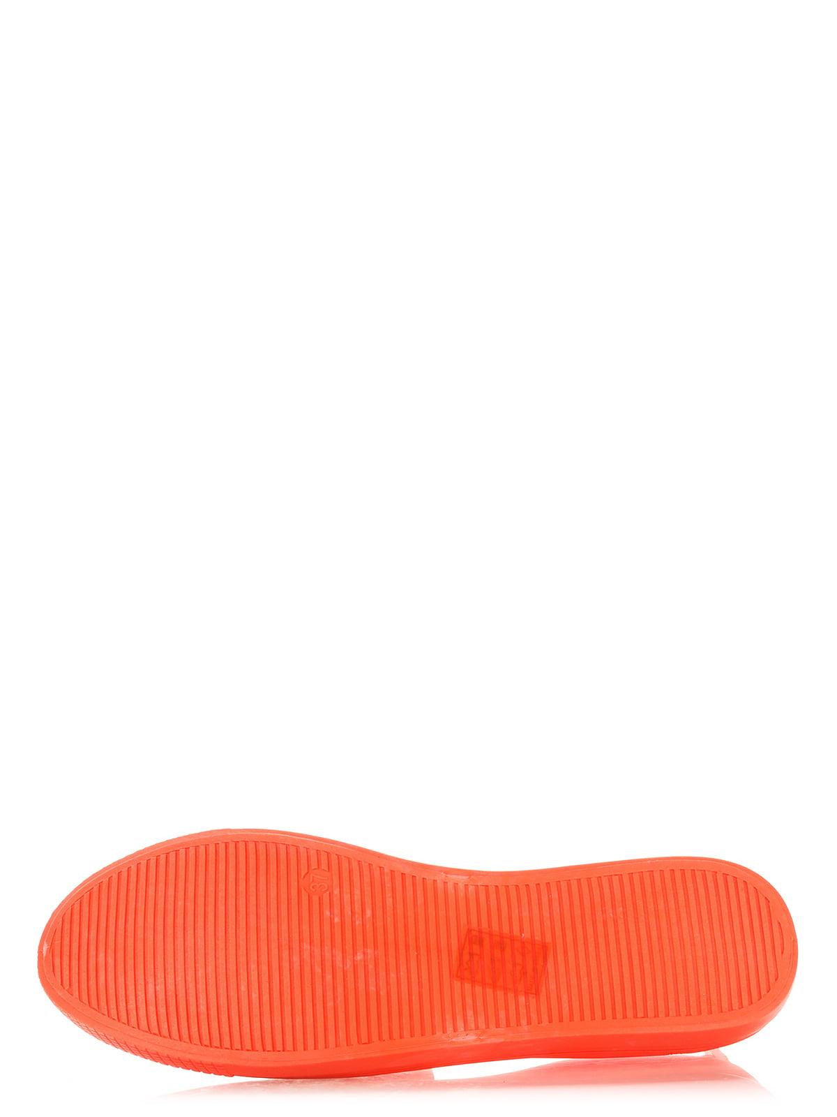 Слипоны оранжевые | 2743406 | фото 5