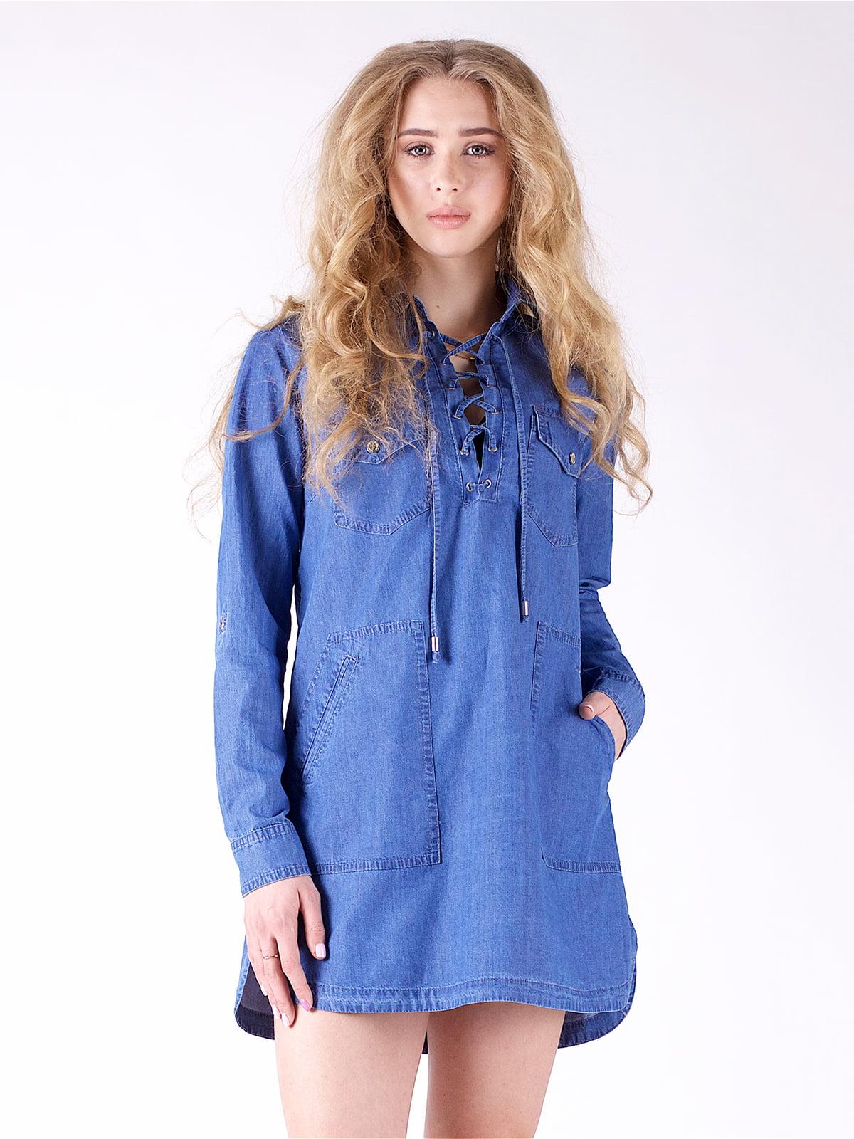 Сукня синя | 3277689 | фото 4