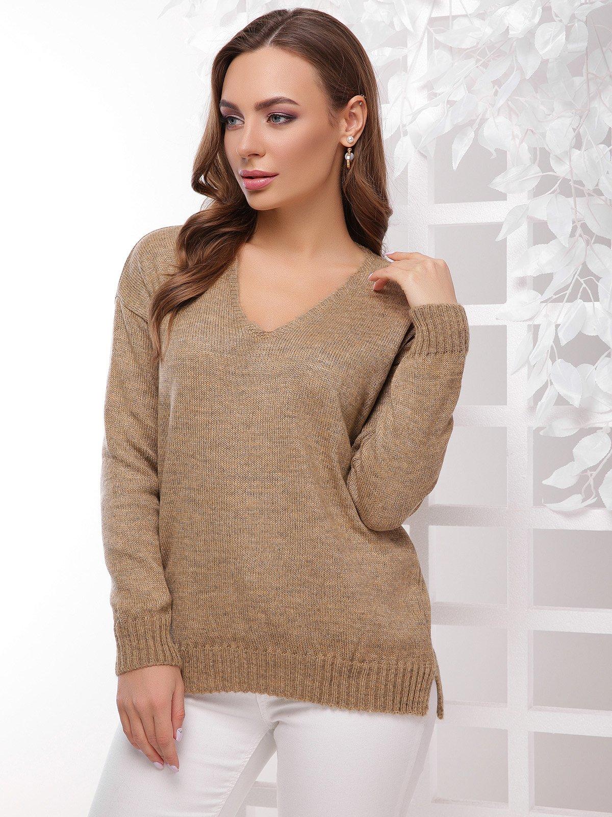 Пуловер золотистий | 4189723