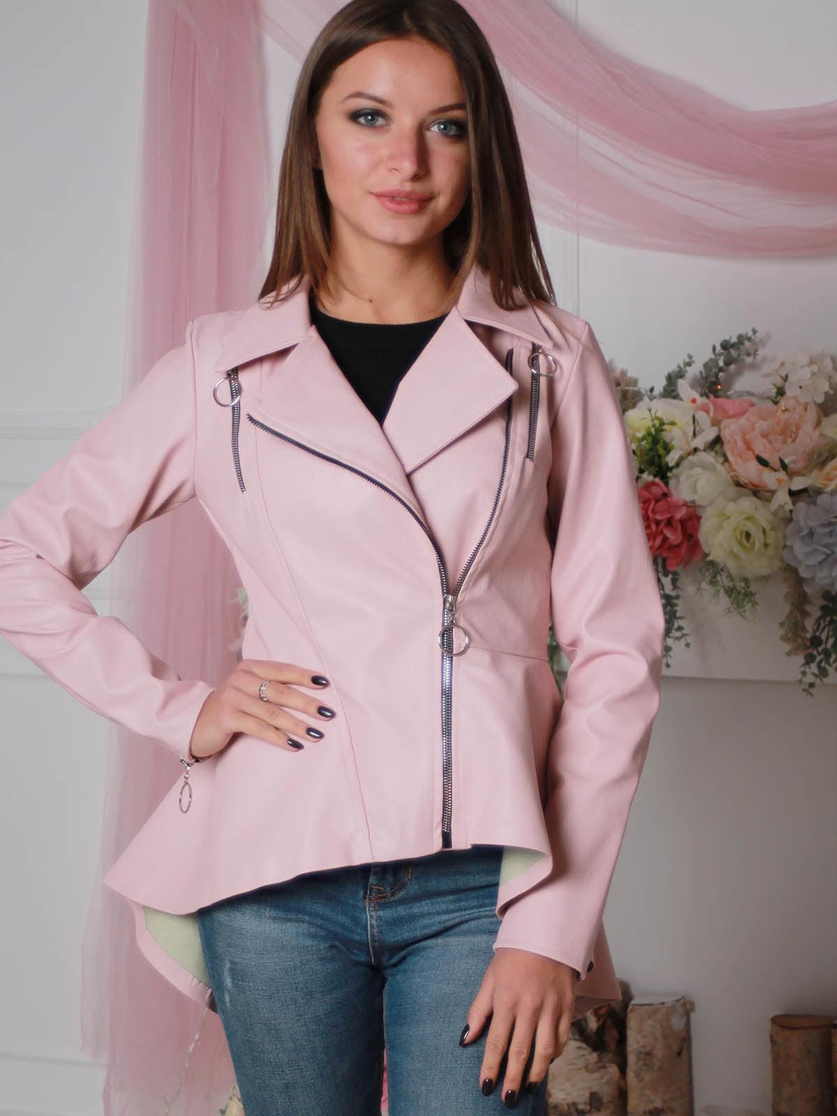 Куртка розовая | 4190367