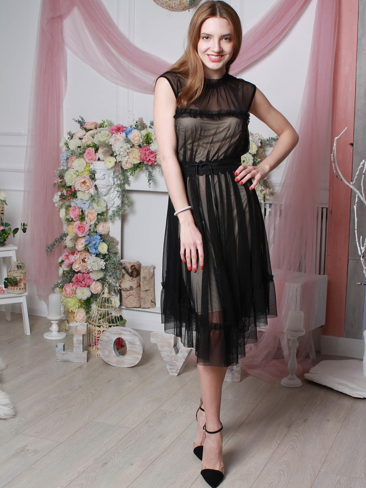 Платье черное | 4190371