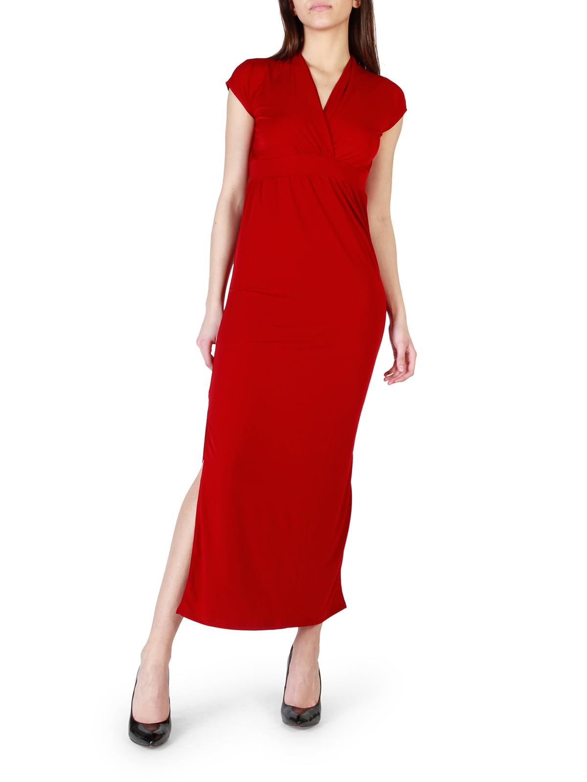 Платье темно-красное   4072279