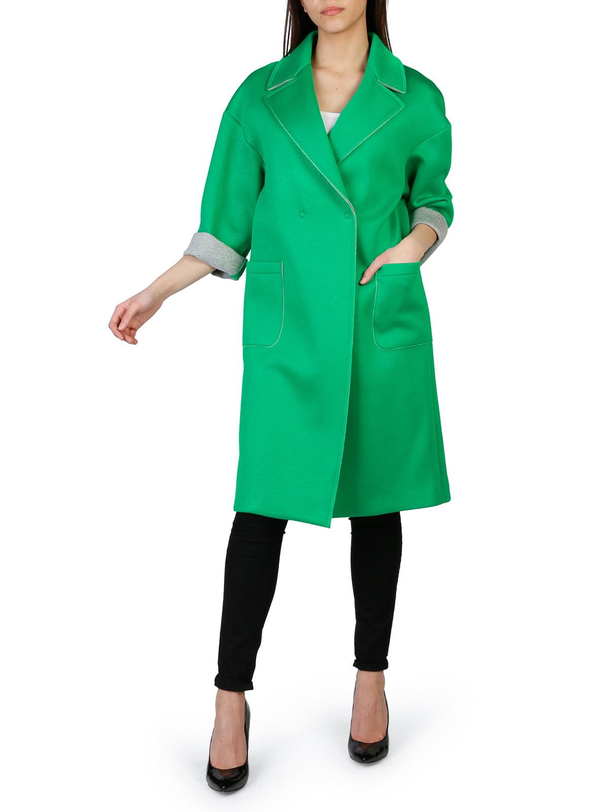 Пальто зелене | 4155587