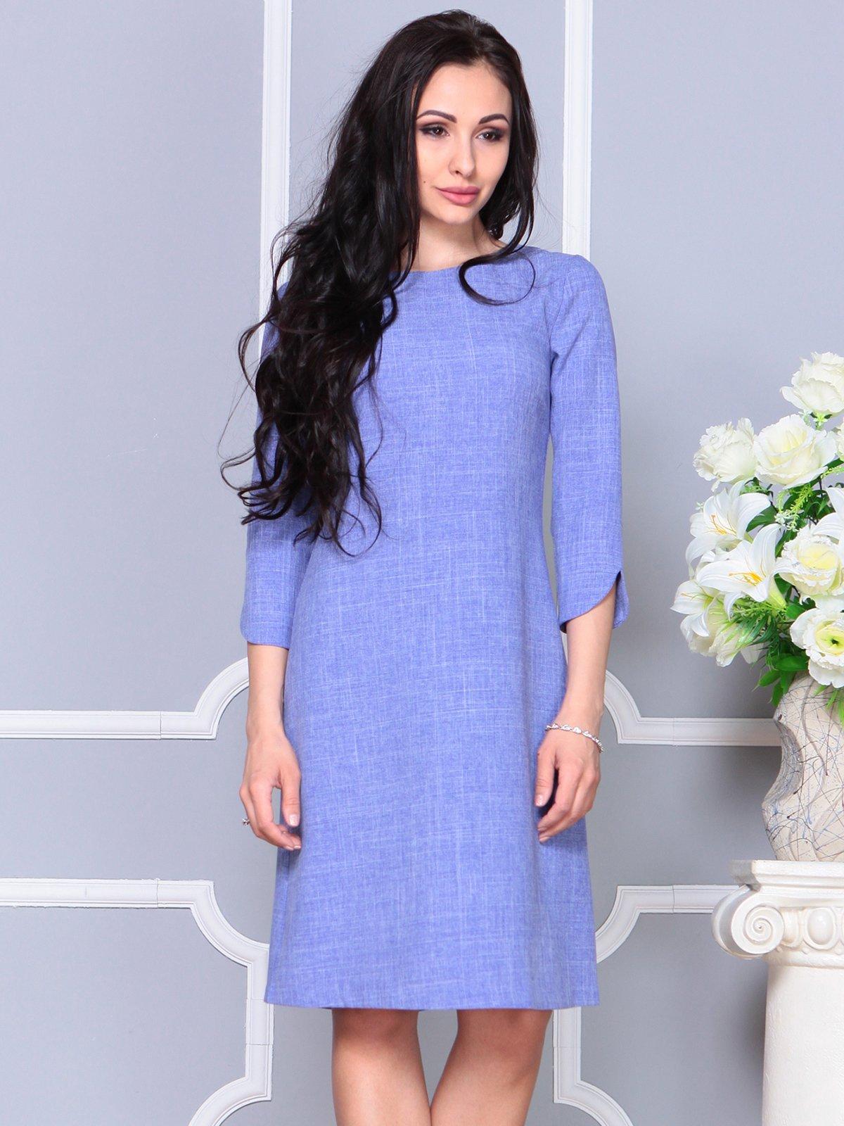 Платье фиолетовое | 4191520 | фото 3