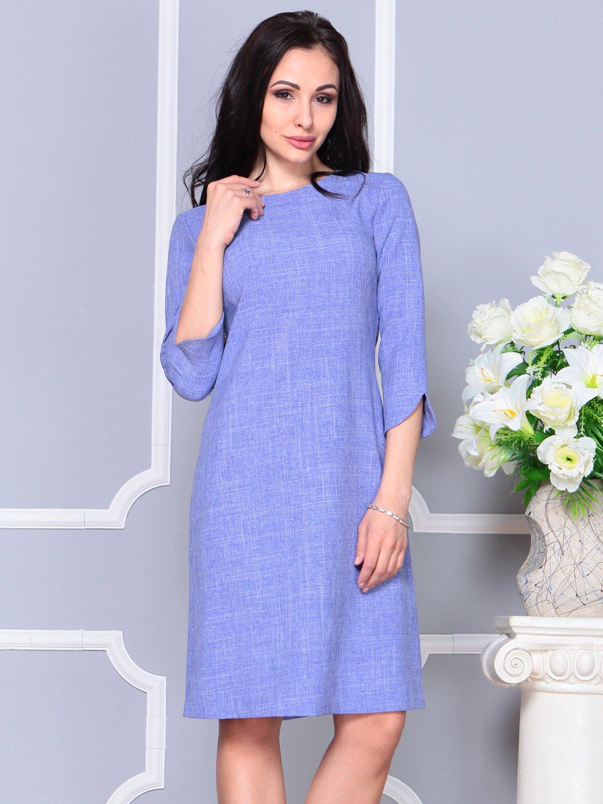 Платье фиолетовое | 4191520 | фото 5