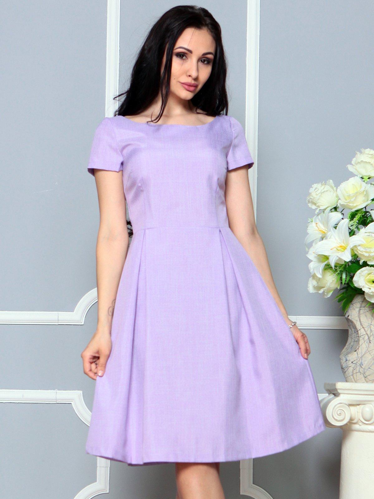 Платье светло-фиалковое   4191522