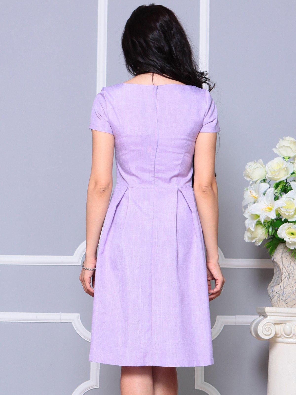 Платье светло-фиалковое   4191522   фото 2