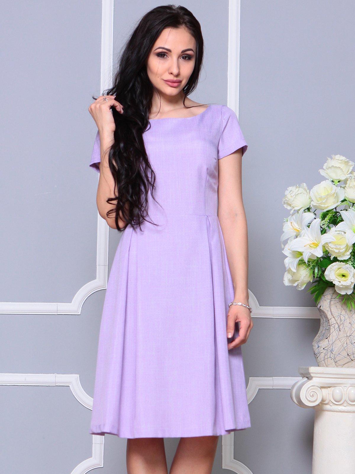 Платье светло-фиалковое   4191522   фото 3