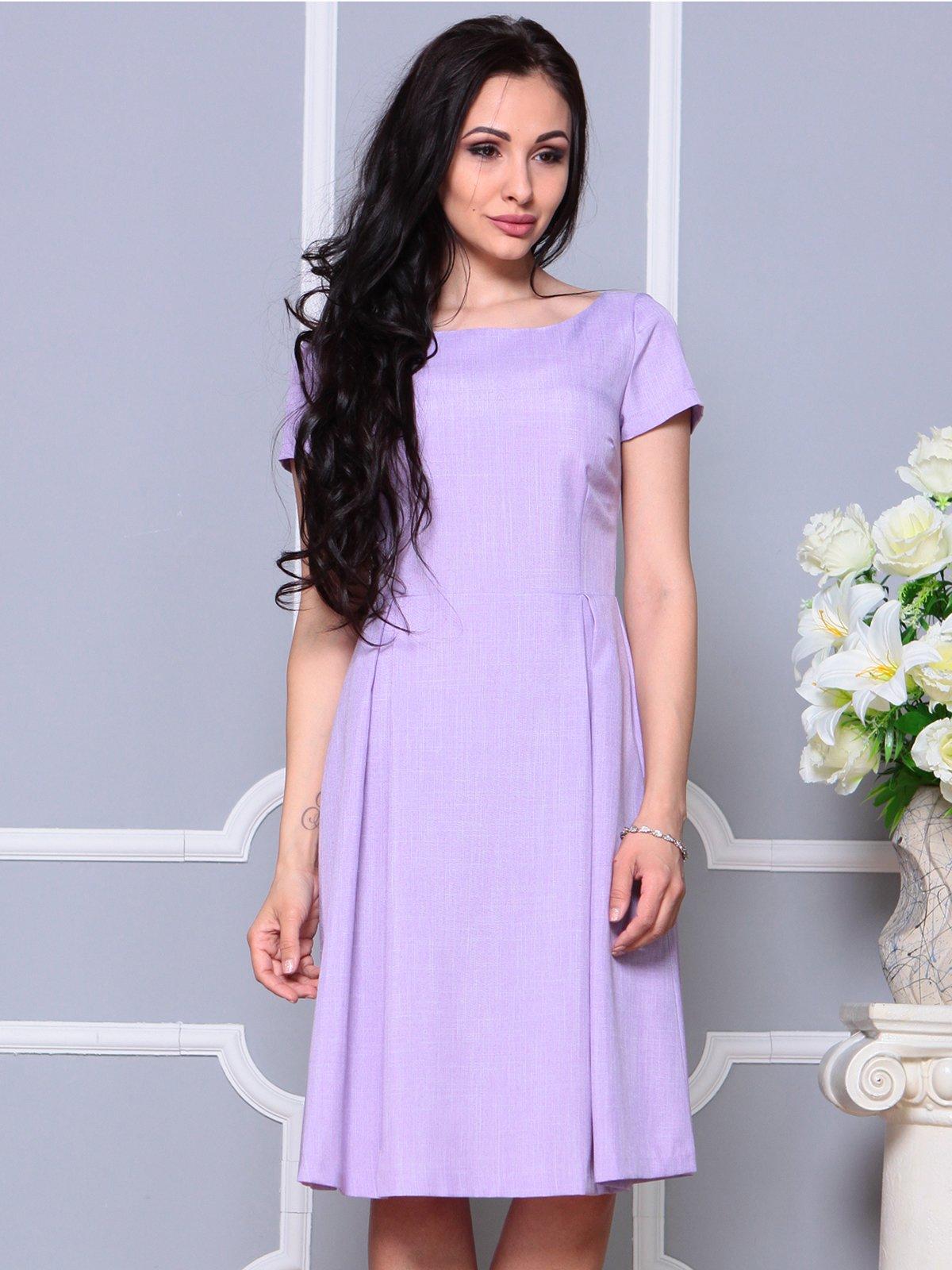 Платье светло-фиалковое   4191522   фото 4