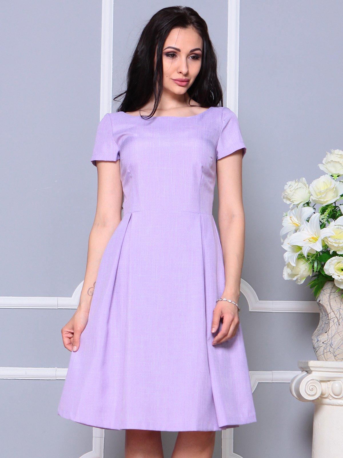Платье светло-фиалковое   4191522   фото 5