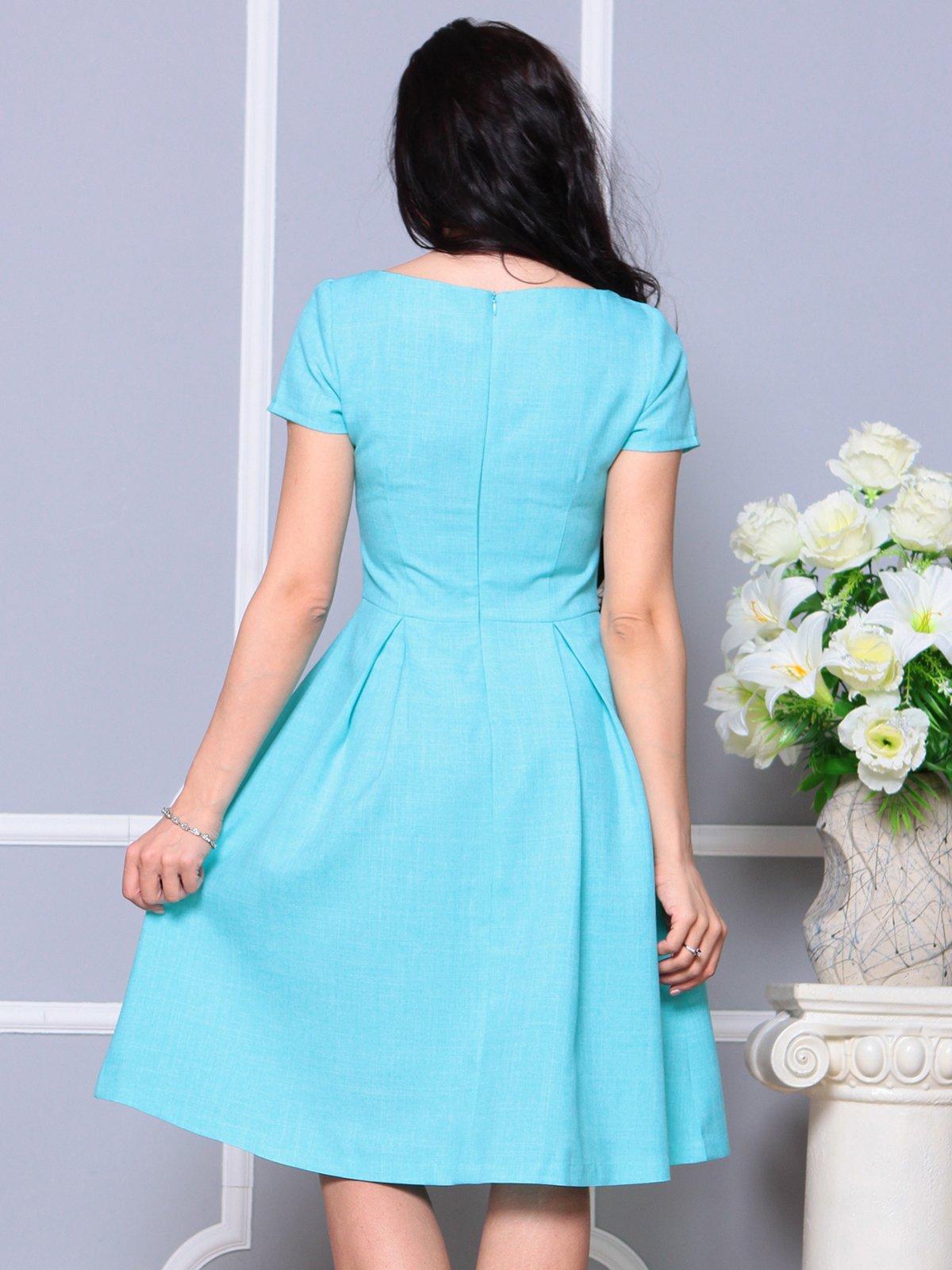 Платье светло-бирюзовое | 4191523 | фото 2