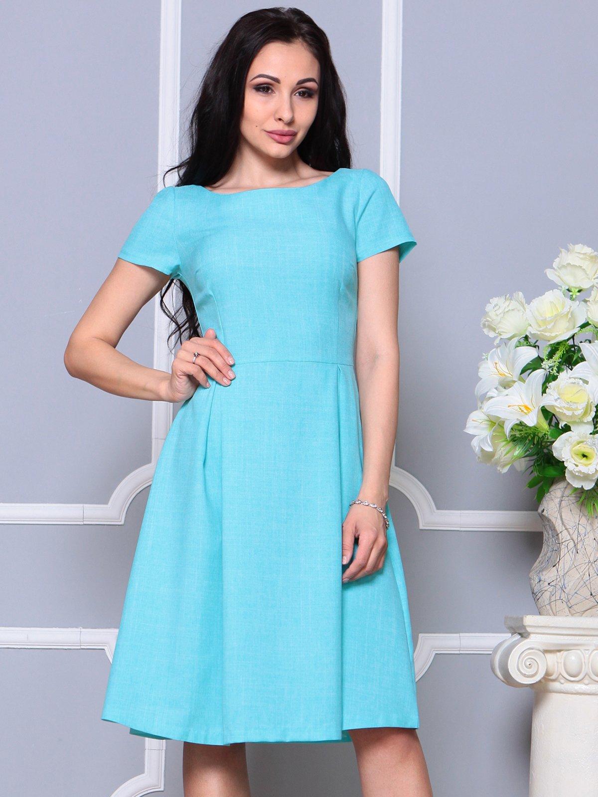 Платье светло-бирюзовое | 4191523 | фото 3