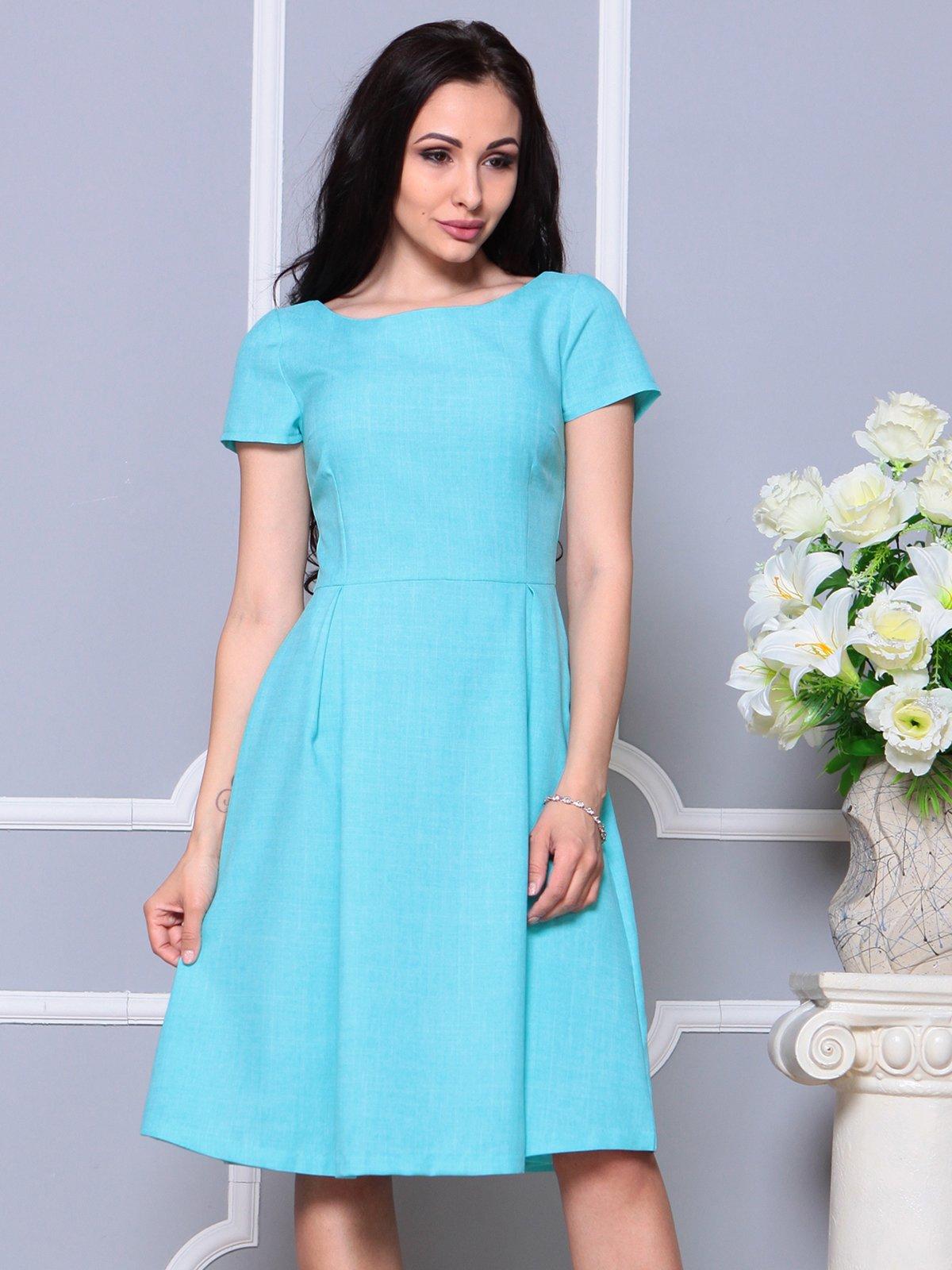 Платье светло-бирюзовое | 4191523 | фото 5