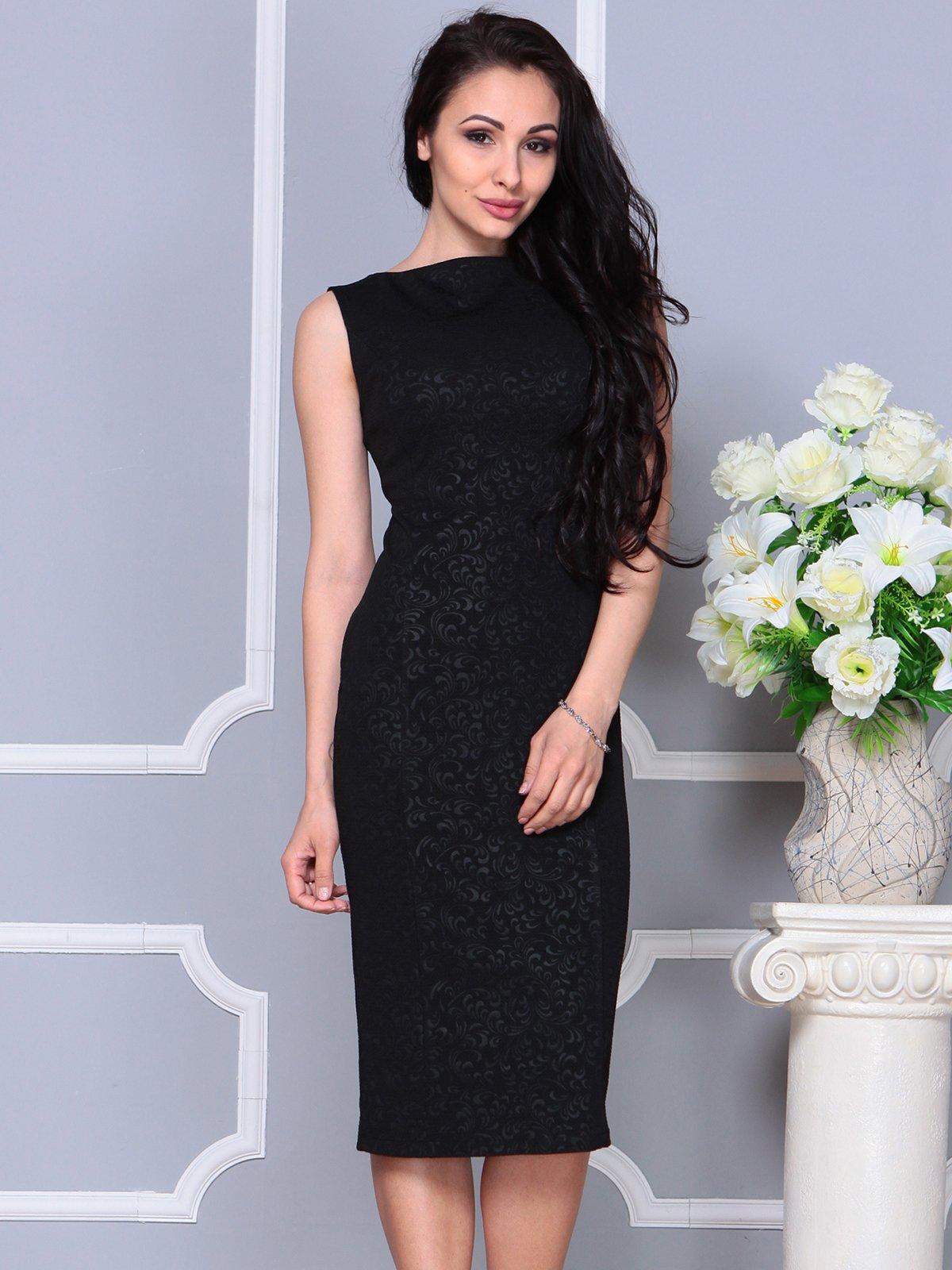 Платье черное | 4191527