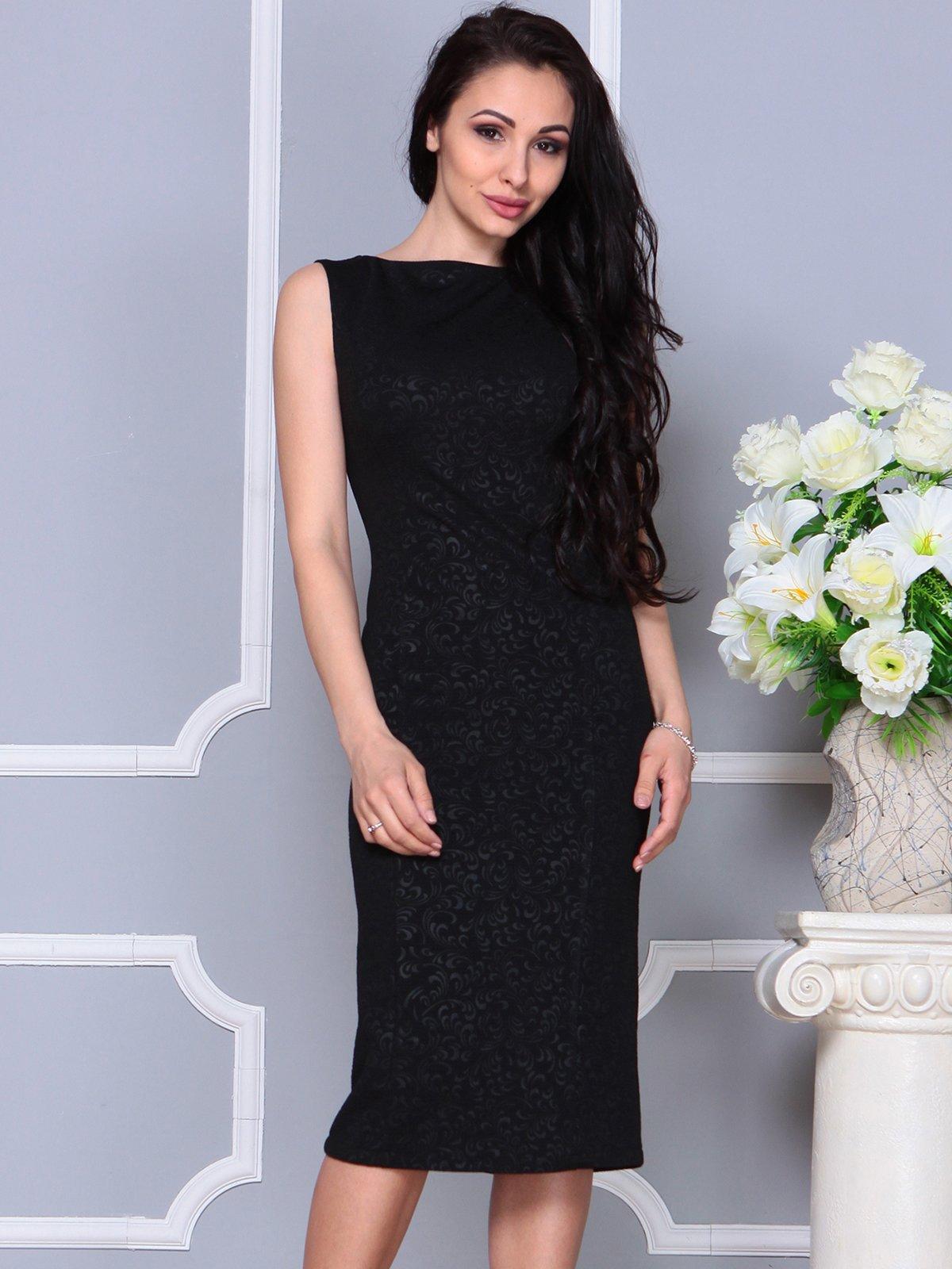 Платье черное | 4191527 | фото 3
