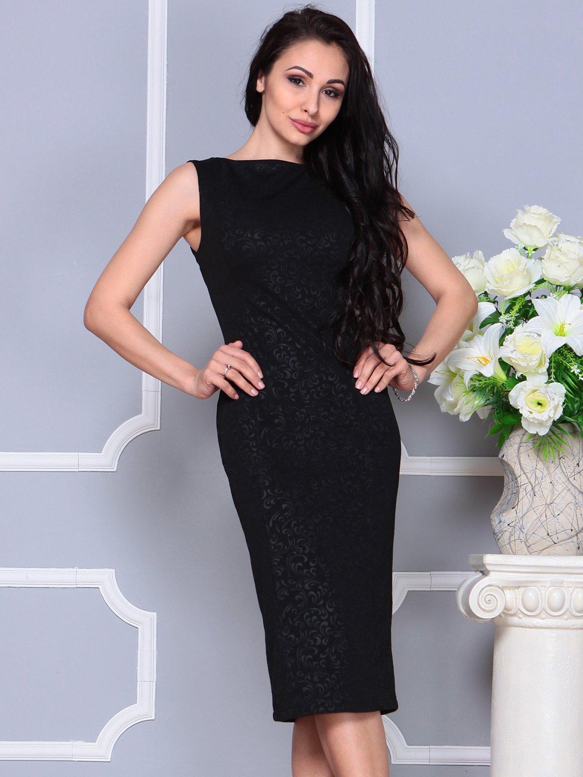 Платье черное | 4191527 | фото 4