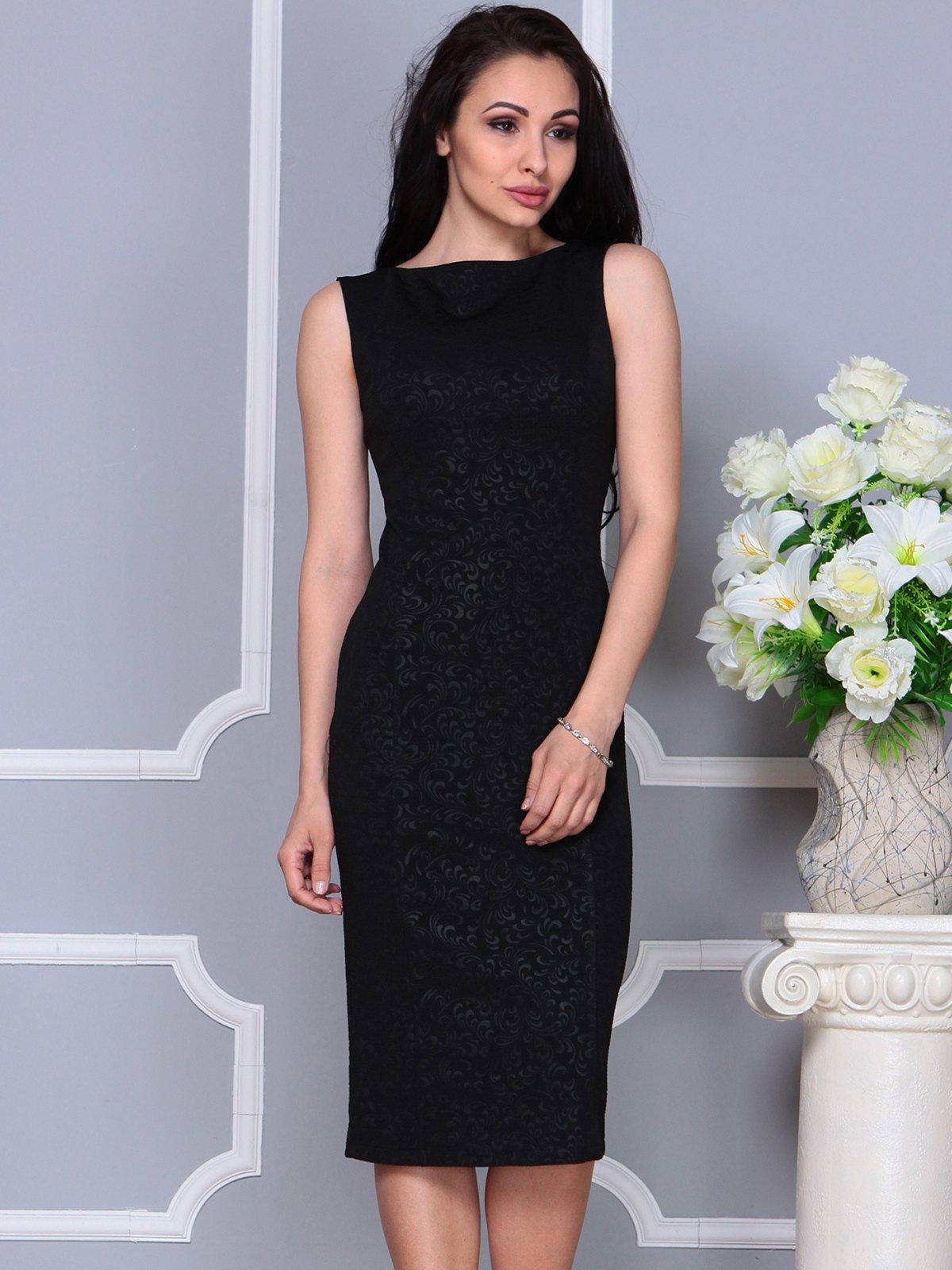 Платье черное | 4191527 | фото 5