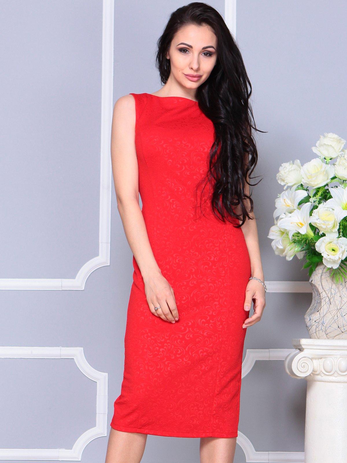 Платье красное   4191529