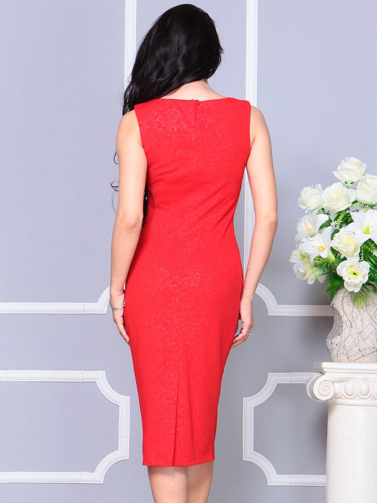 Платье красное   4191529   фото 2