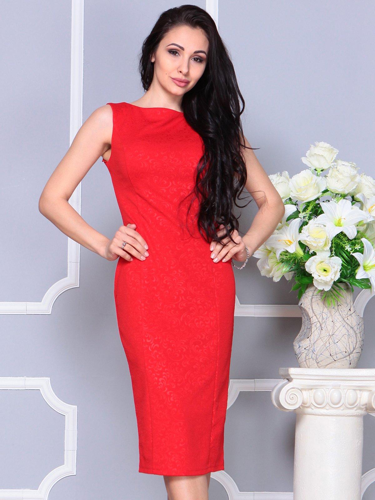 Платье красное   4191529   фото 3