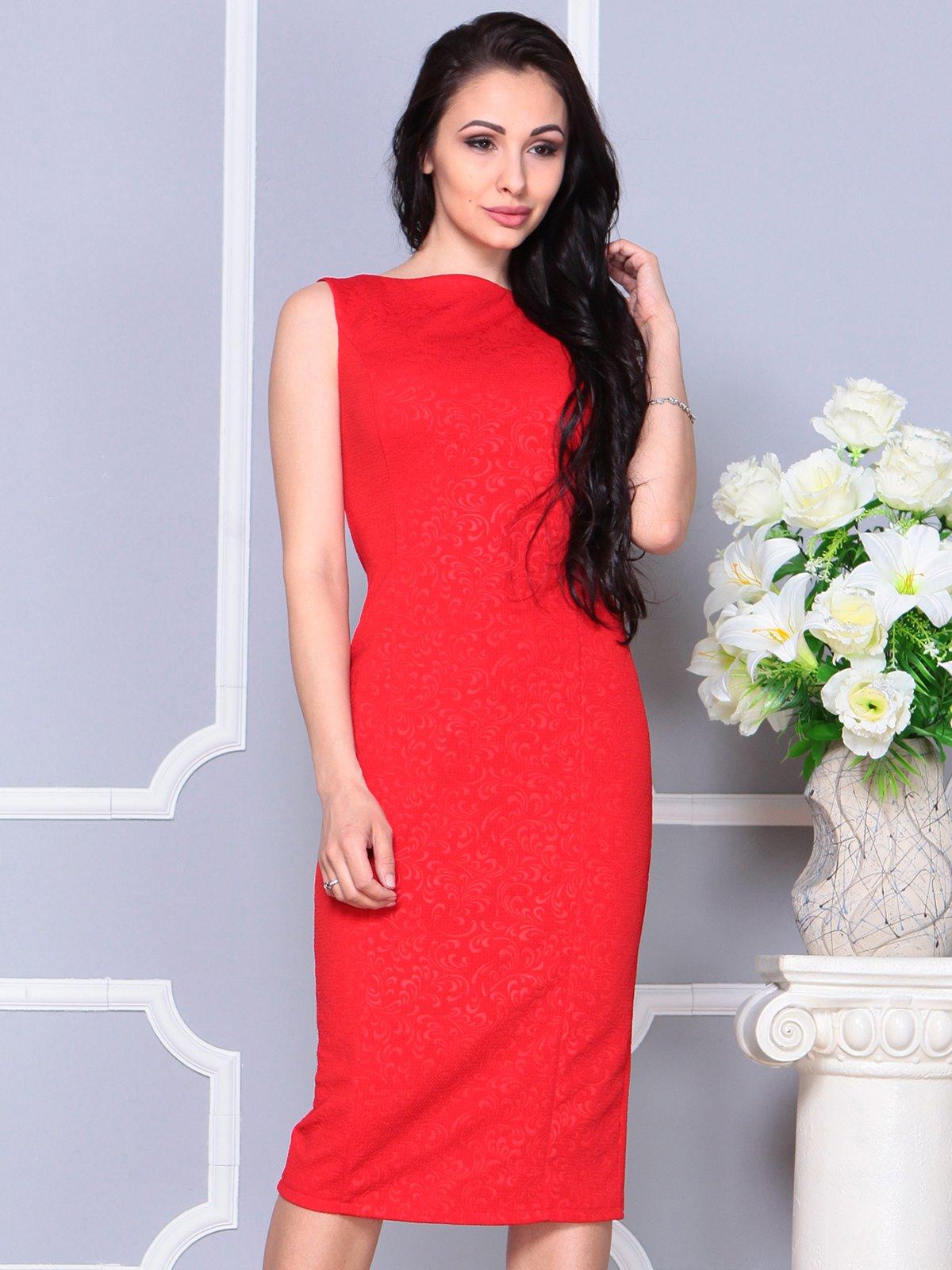 Платье красное   4191529   фото 5