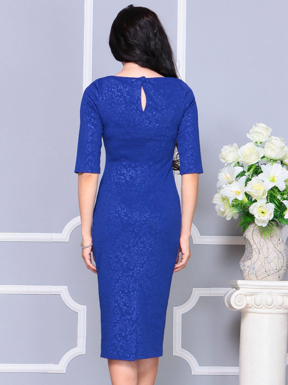 Платье цвета электрик   4191530   фото 2