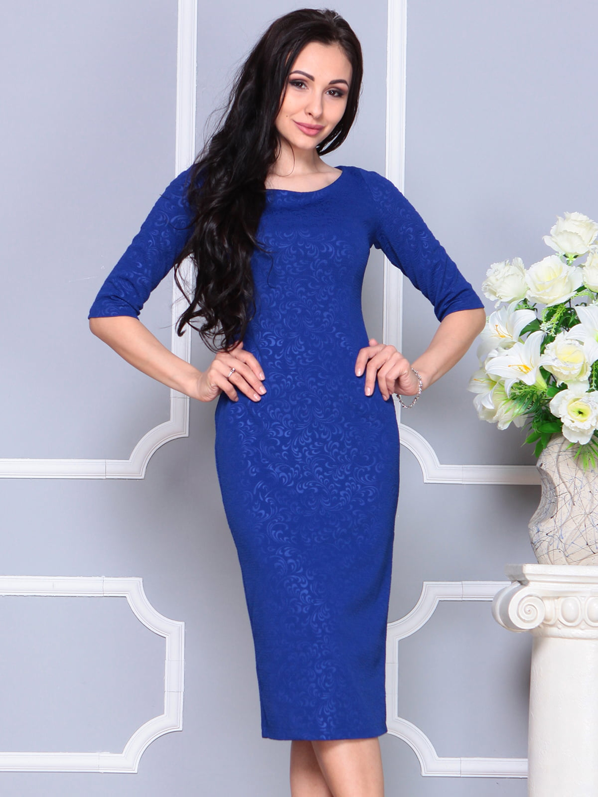 Платье цвета электрик   4191530   фото 6