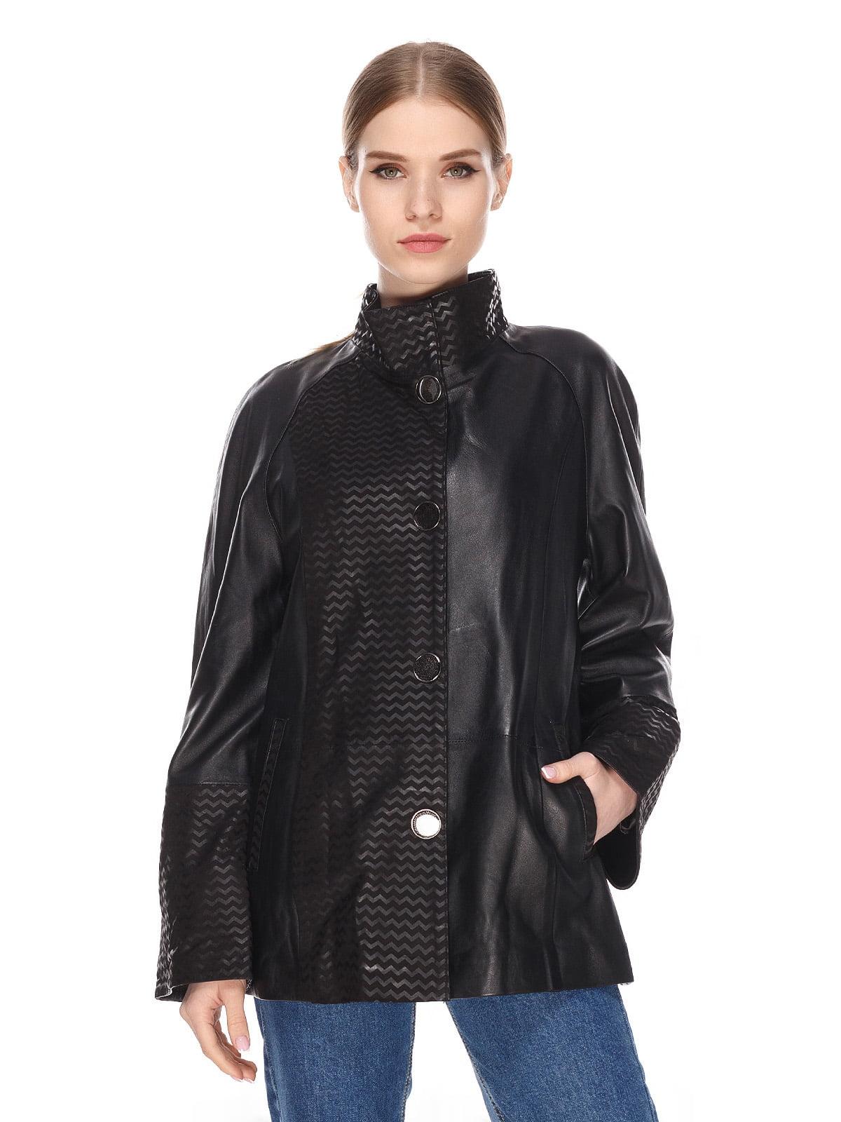Куртка чорна | 4191416