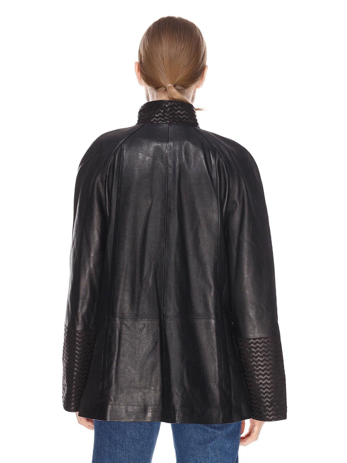 Куртка чорна | 4191416 | фото 2