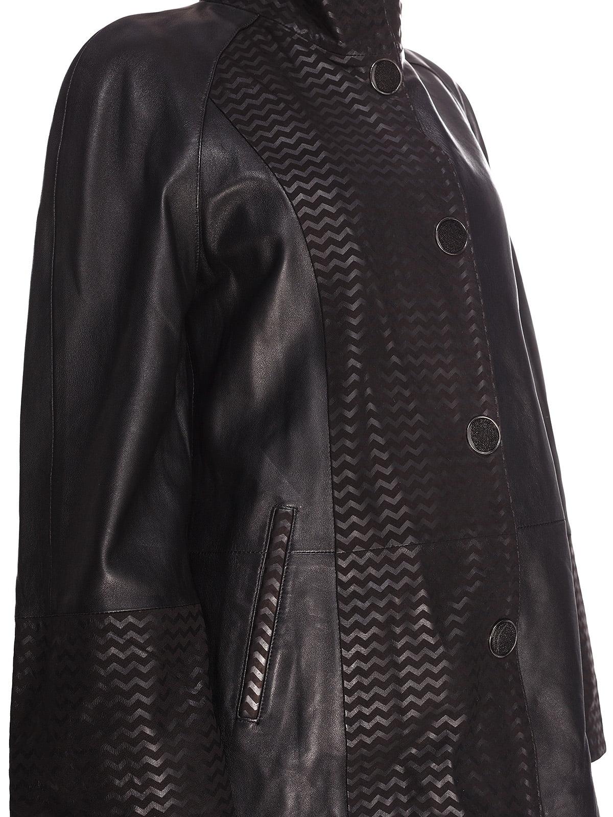 Куртка чорна | 4191416 | фото 3