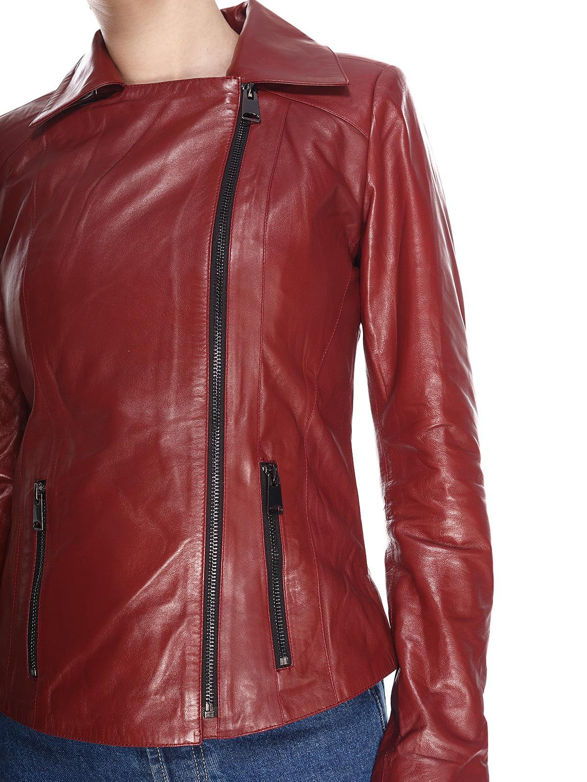 Куртка бордова | 4191413 | фото 3