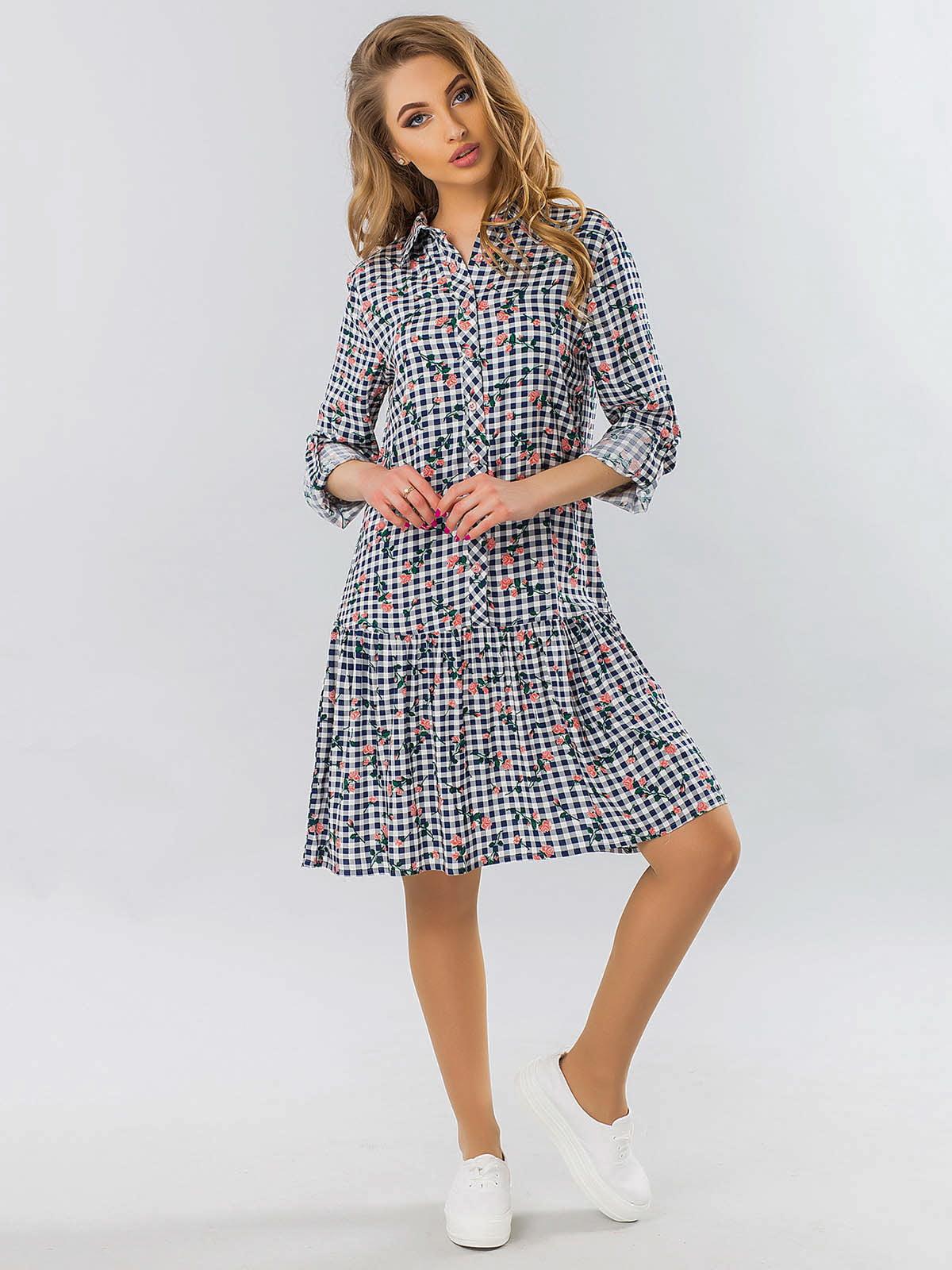 Сукня-сорочка в клітинку — Garda 553273318202f