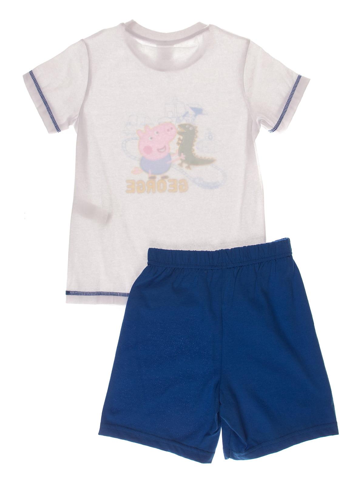 Піжама: футболка і шорти | 4180571 | фото 2