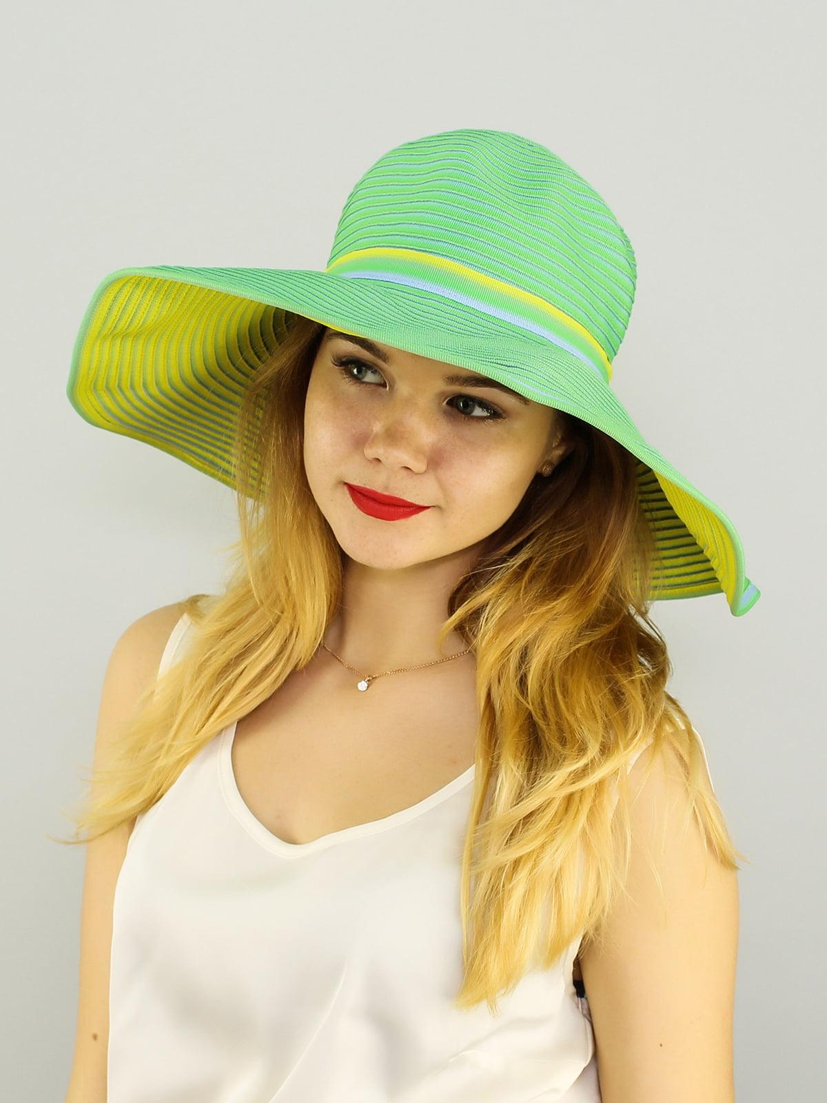 Шляпа салатовая   4192567