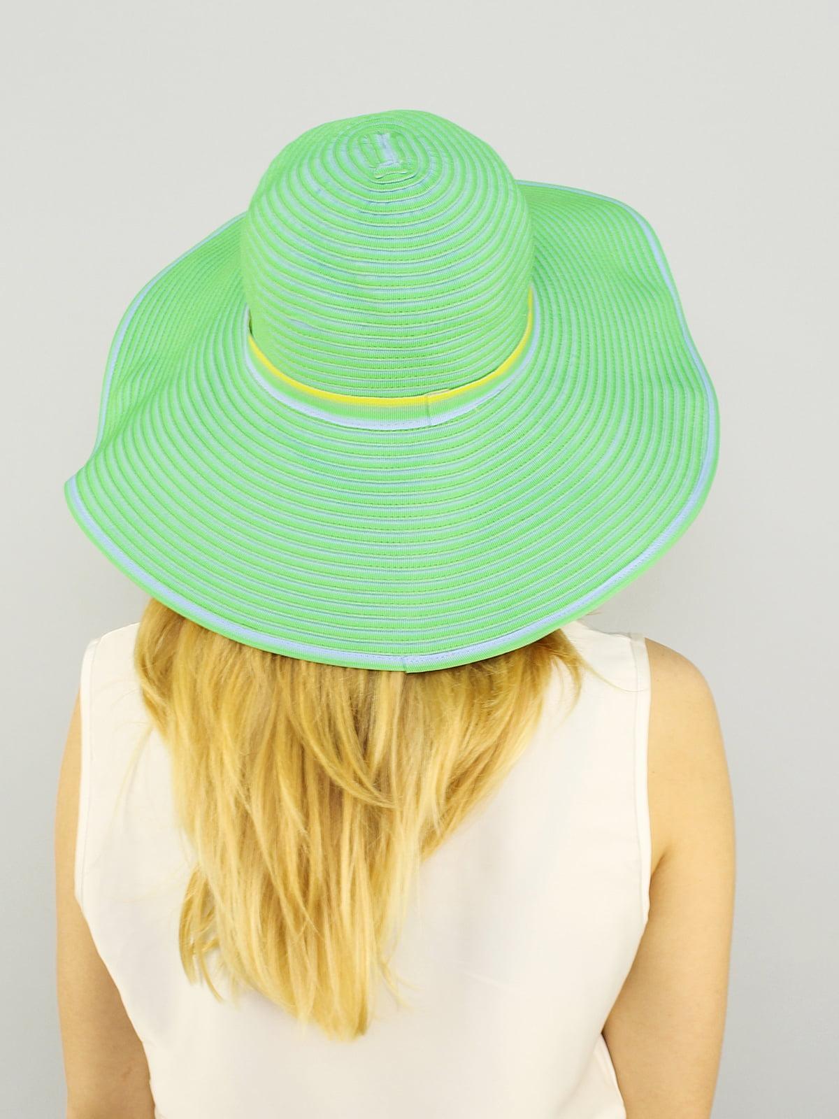 Шляпа салатовая   4192567   фото 2