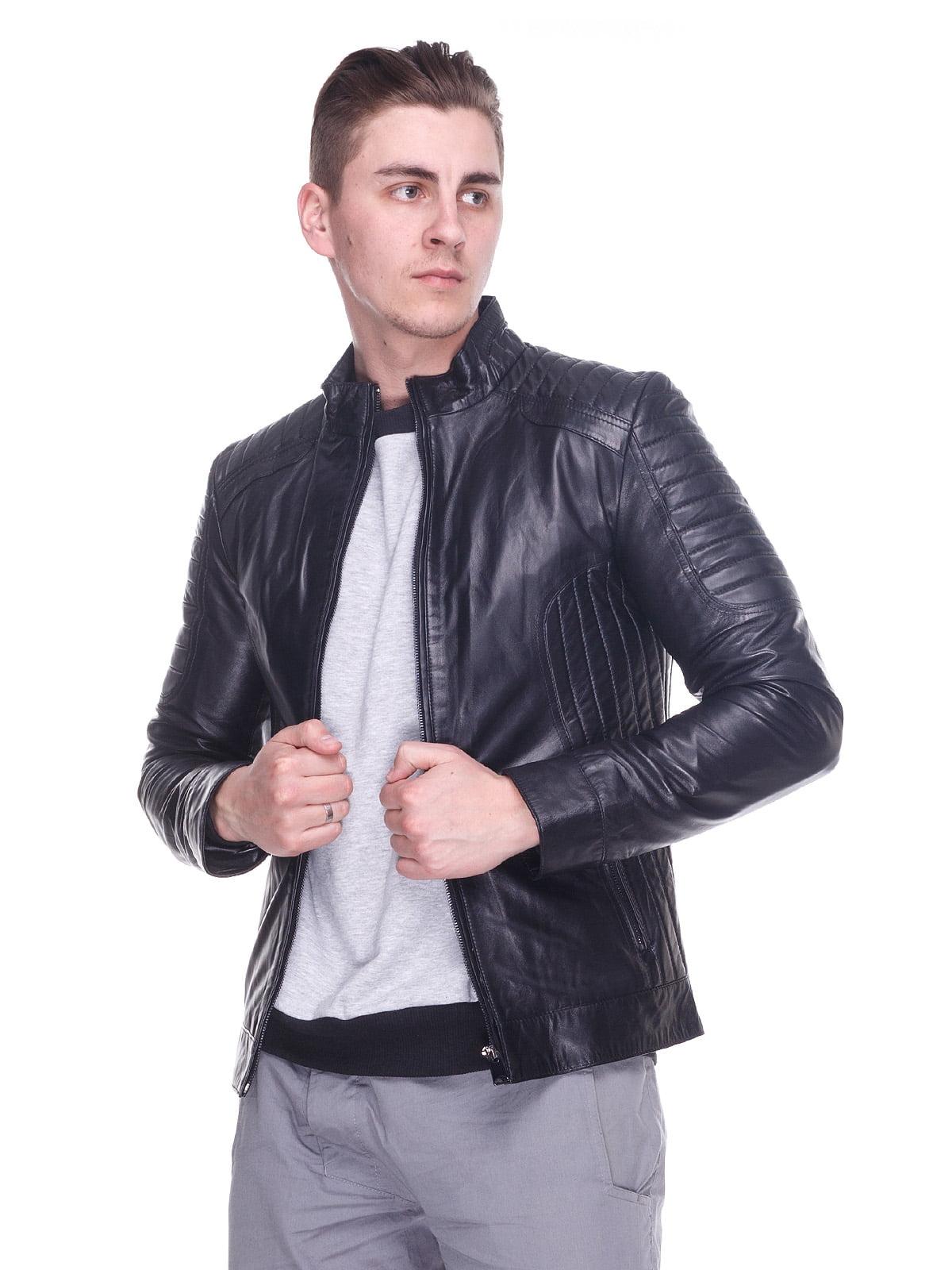 Куртка чорна | 4191422