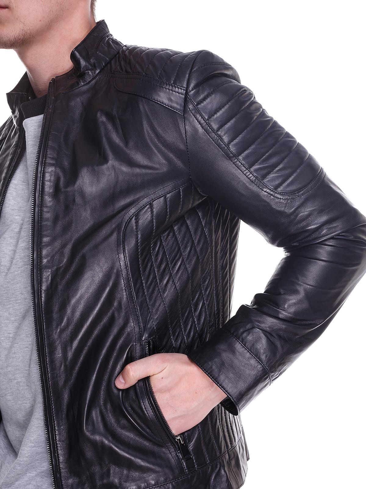 Куртка чорна | 4191422 | фото 3
