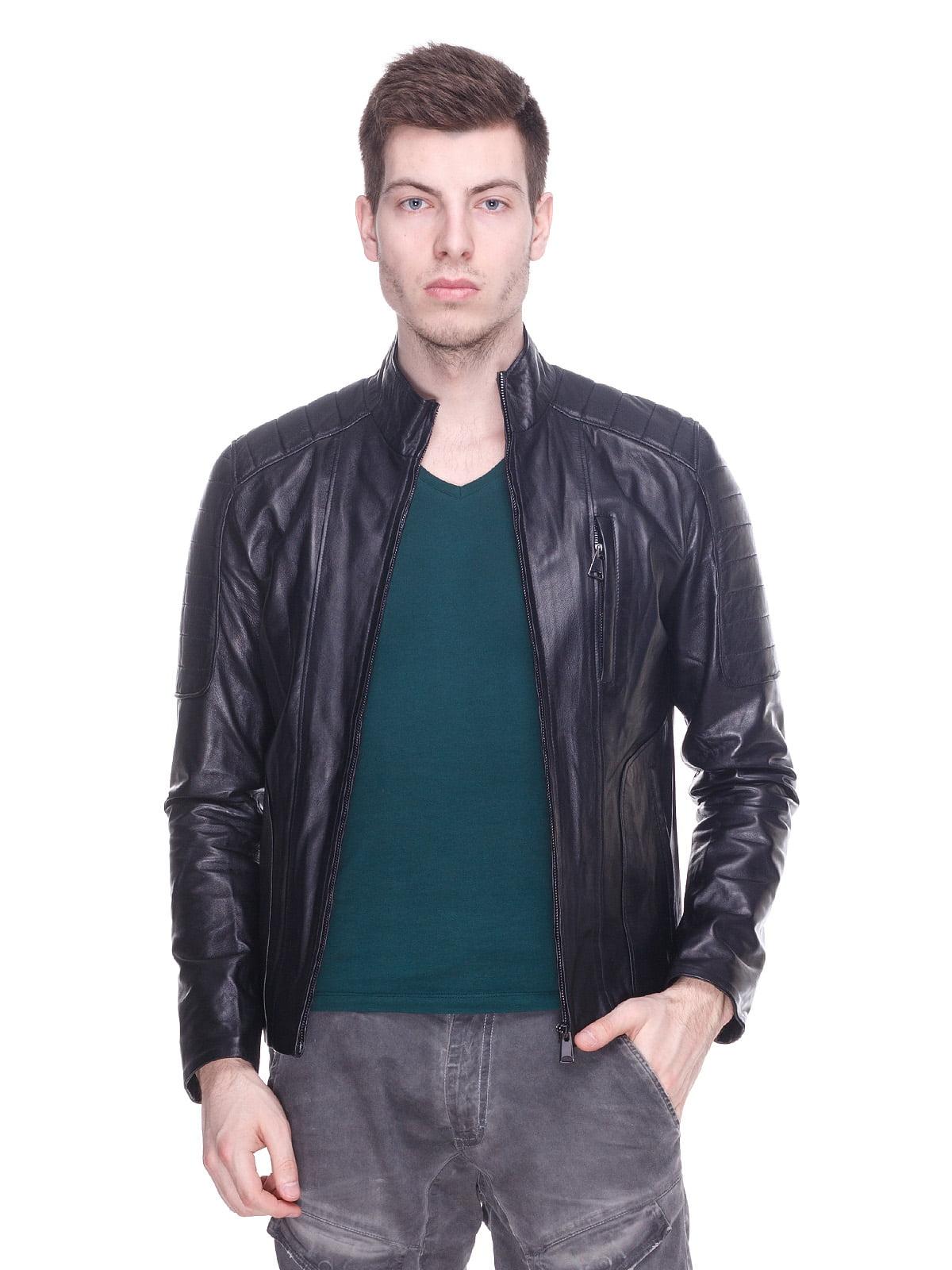 Куртка чорна | 4191420