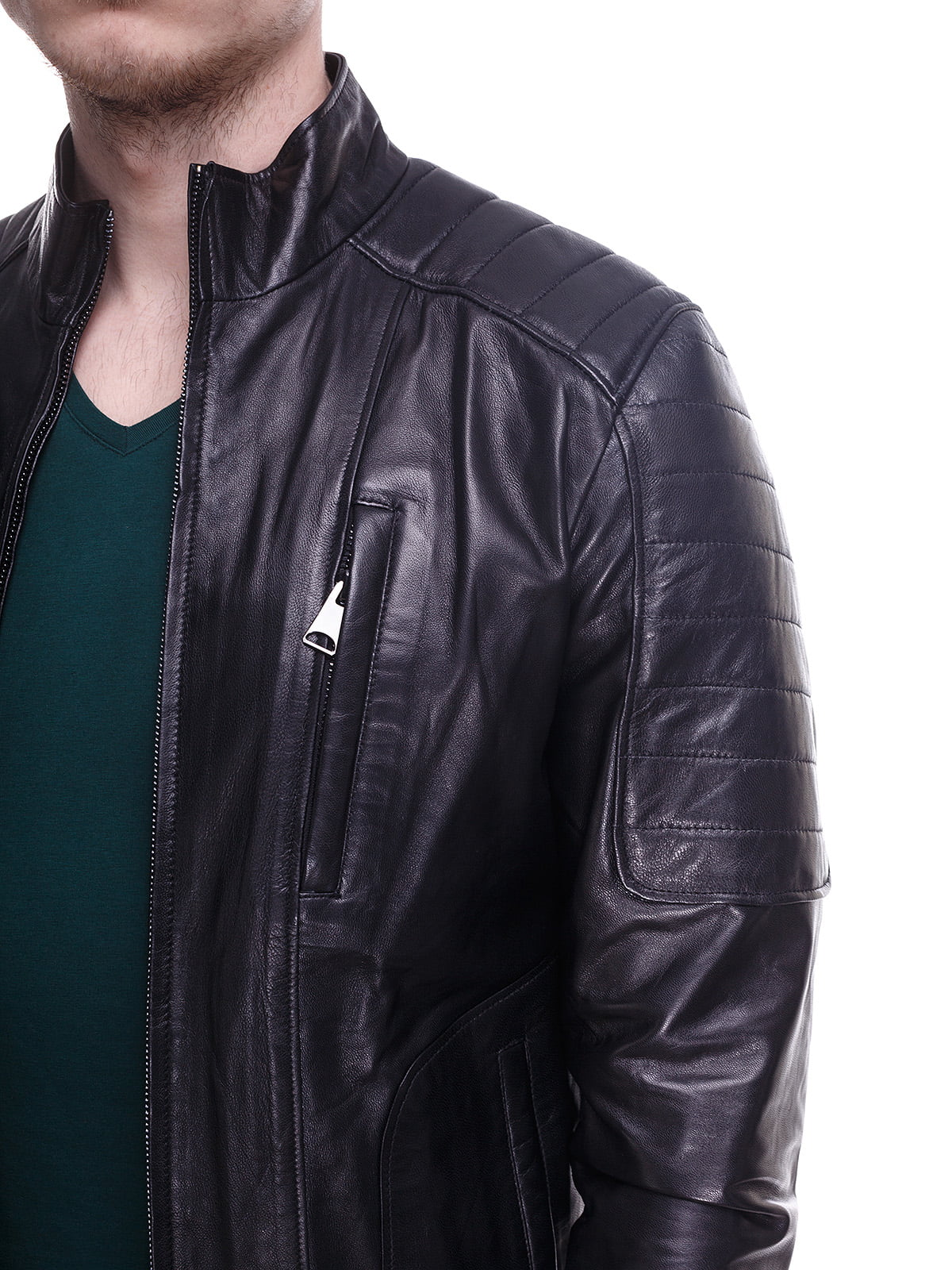 Куртка чорна | 4191420 | фото 3