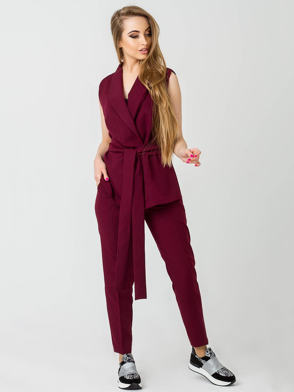 Костюм: жилет и брюки | 4192849